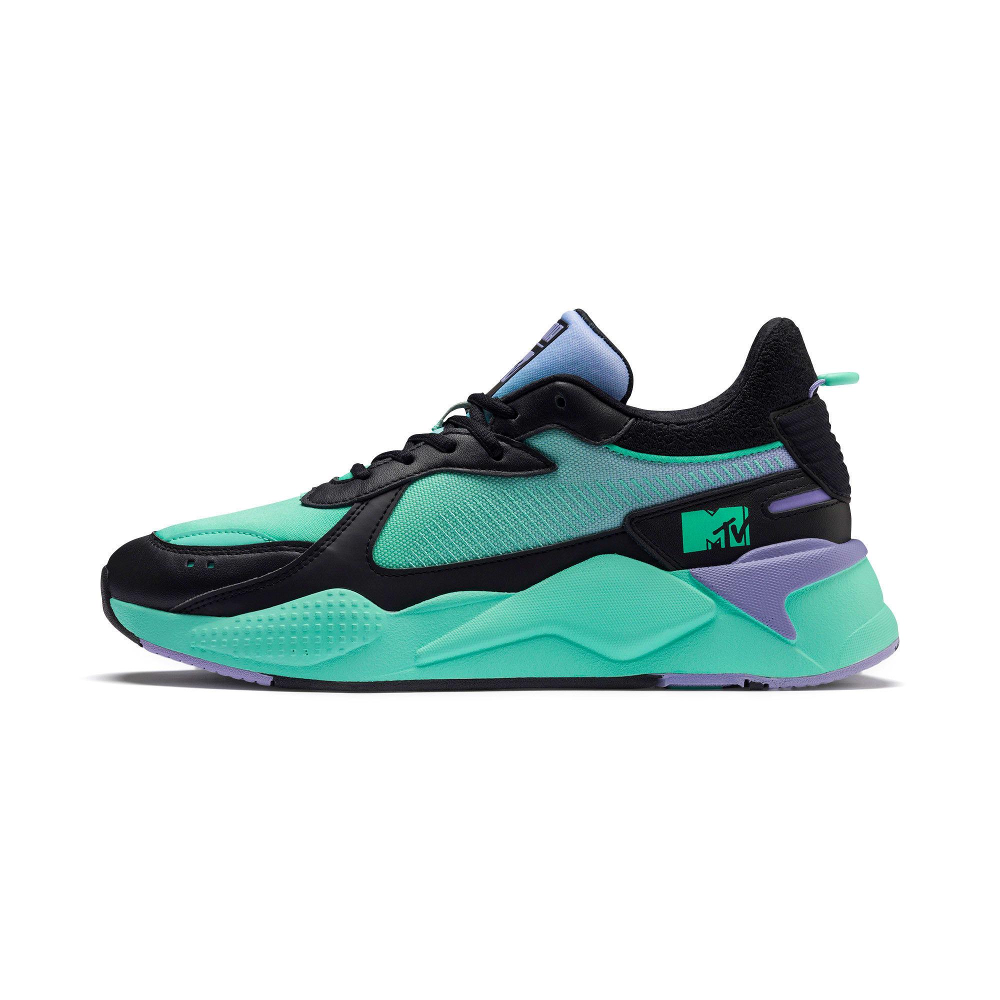 Thumbnail 1 of RS-X Tracks MTV Gradient Gloom Sneakers, Puma Black-Sweet Lavender, medium