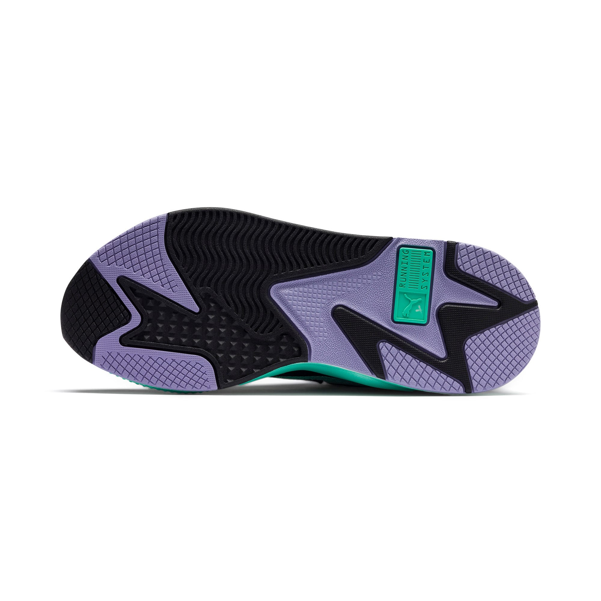 Thumbnail 4 of RS-X Tracks MTV Gradient Gloom Sneakers, Puma Black-Sweet Lavender, medium
