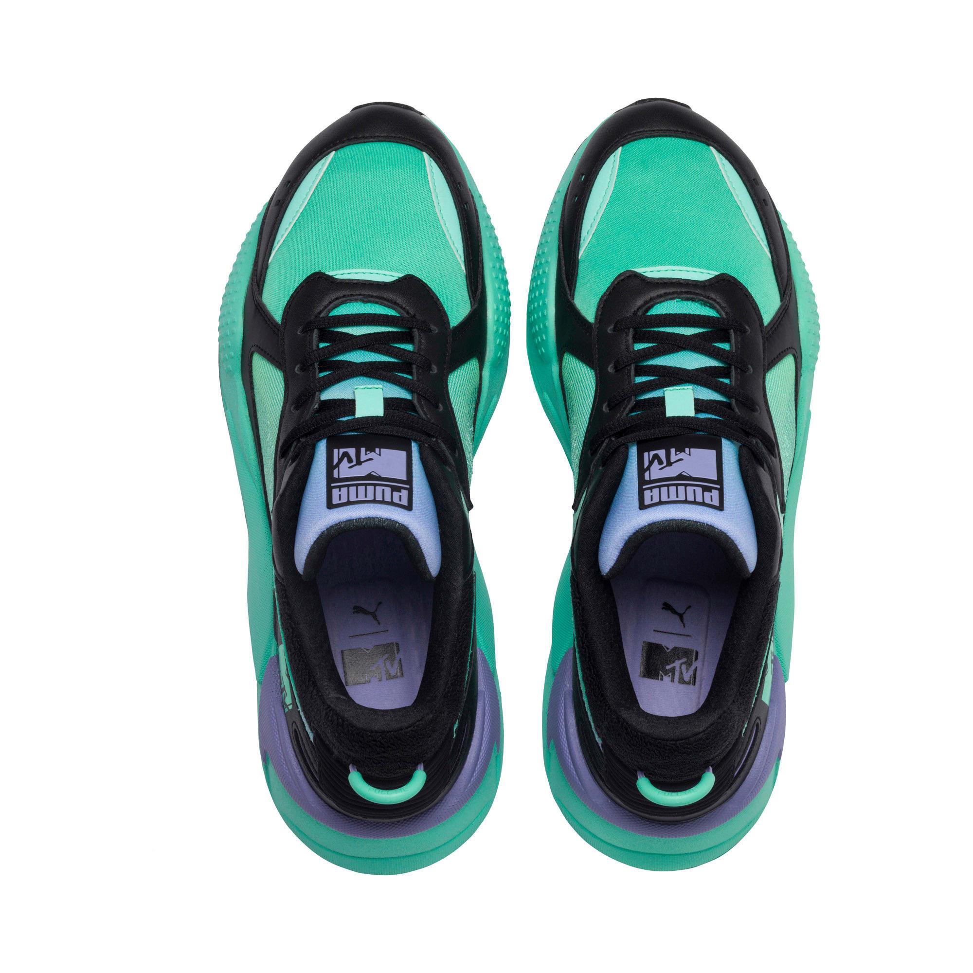 Thumbnail 6 of RS-X Tracks MTV Gradient Gloom Sneakers, Puma Black-Sweet Lavender, medium