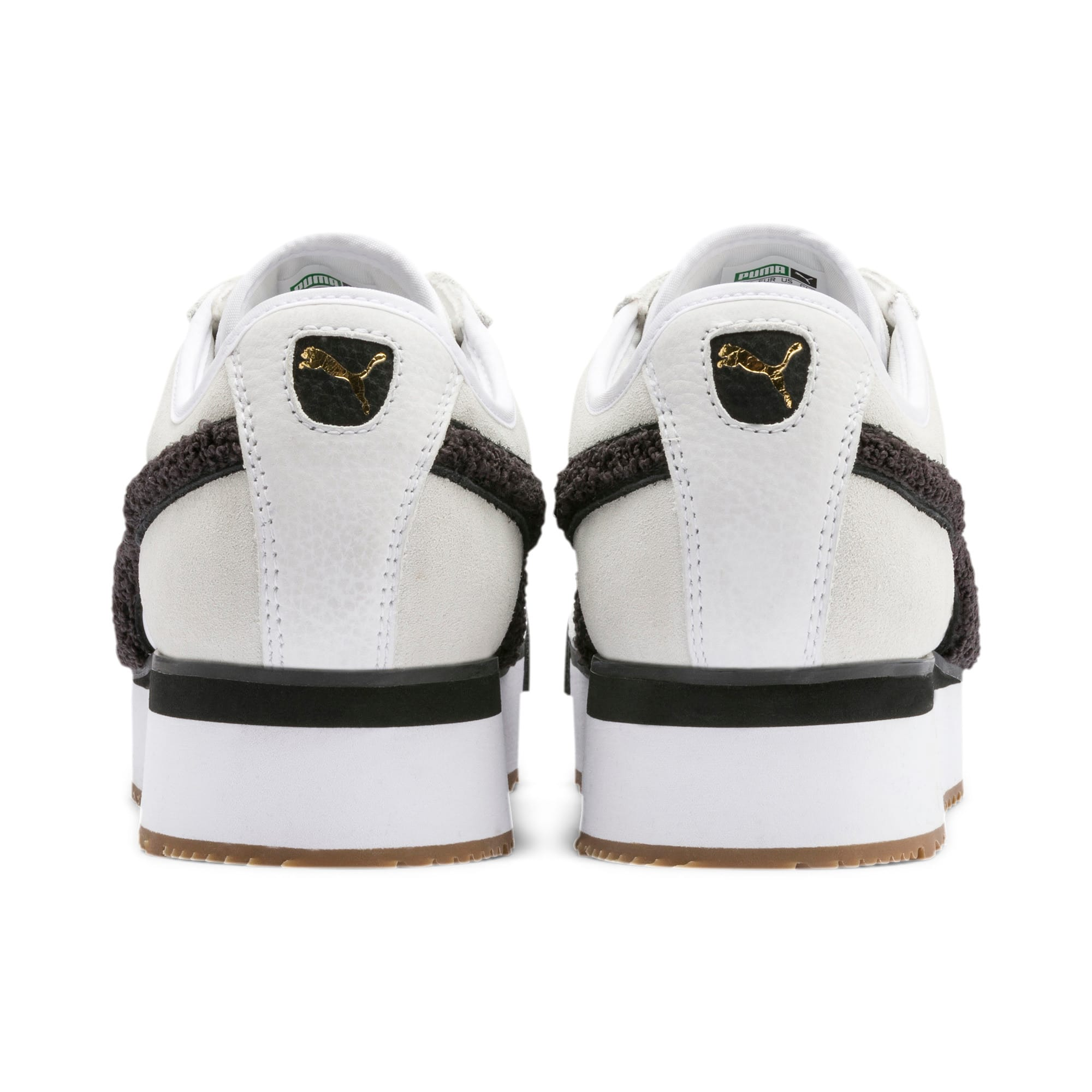 Thumbnail 4 of Roma Amor Heritage Women's Sneakers, Puma White-Puma Black, medium