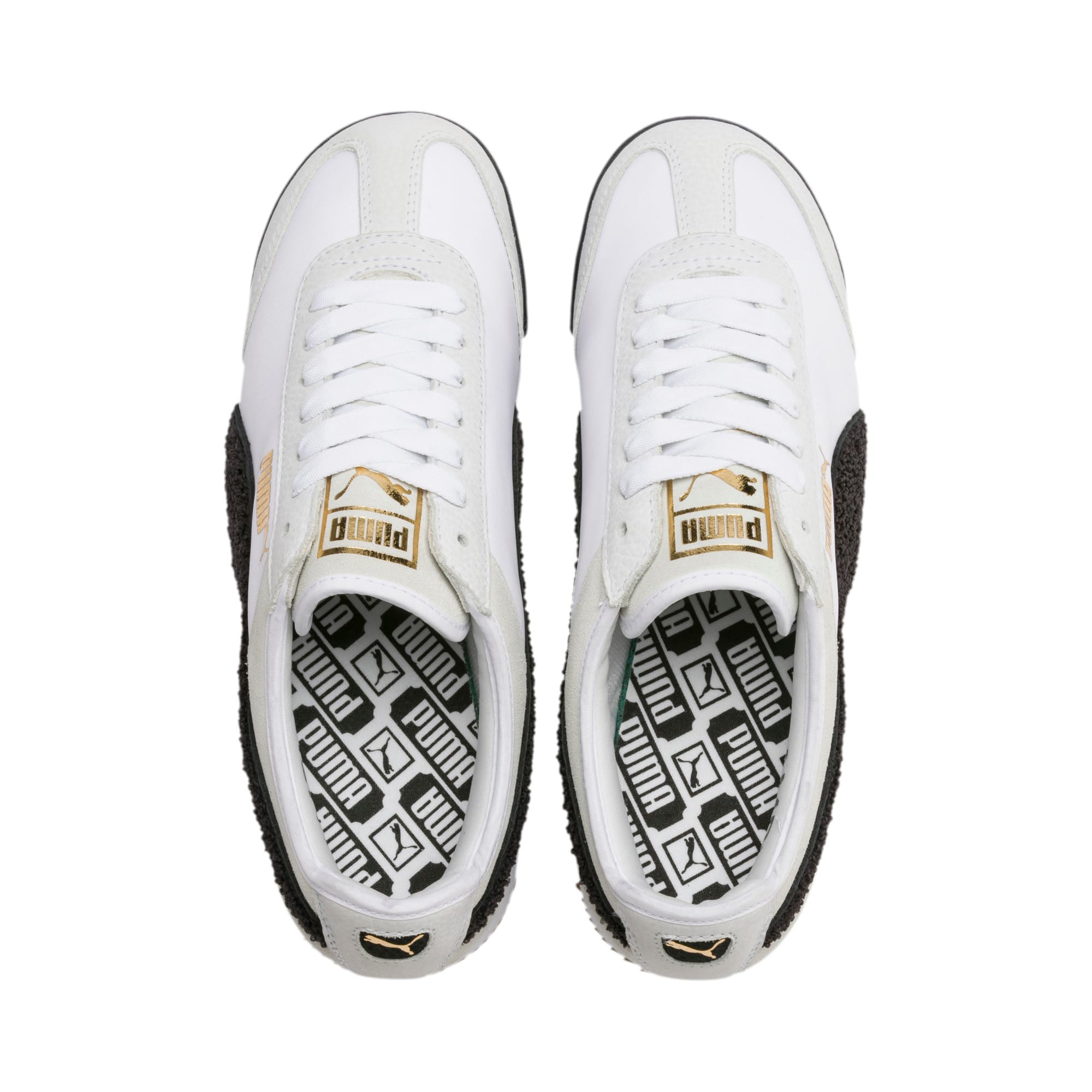 Thumbnail 8 of Roma Amor Heritage Women's Sneakers, Puma White-Puma Black, medium