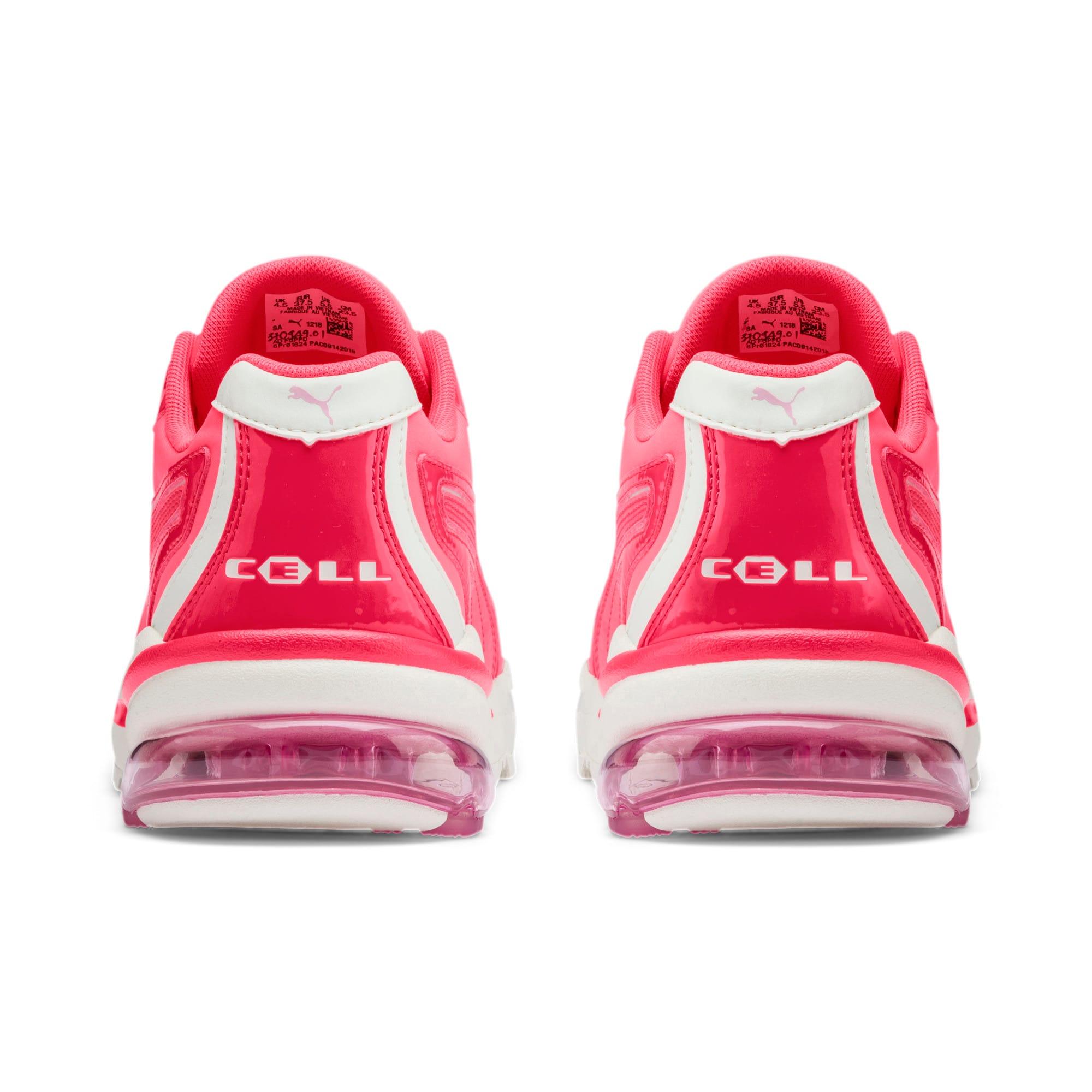 Thumbnail 4 of CELL Stellar Neon Women's Sneakers, Pink Alert-Heather, medium
