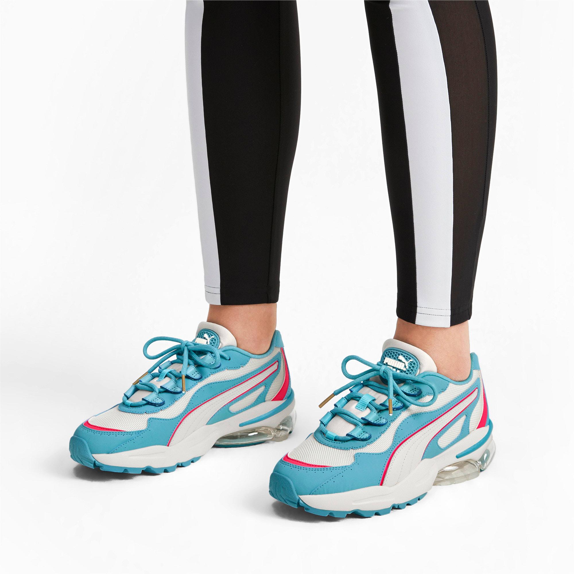 Miniatura 2 de Zapatos deportivos CELL Stellar para mujer, Milky Blue-Puma Team Gold, mediano