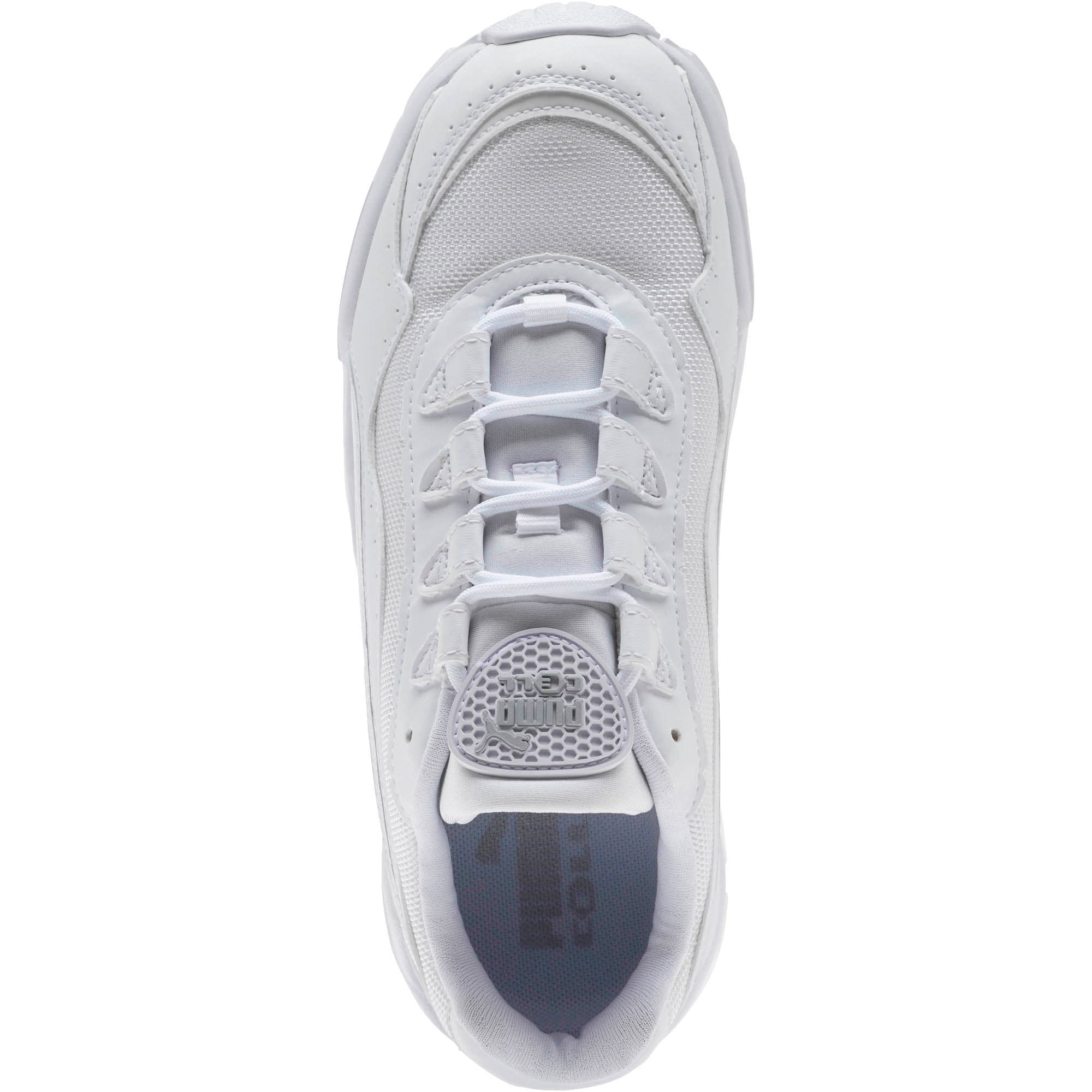 Thumbnail 5 of CELL Stellar Women's Sneakers, Puma White-Silver, medium