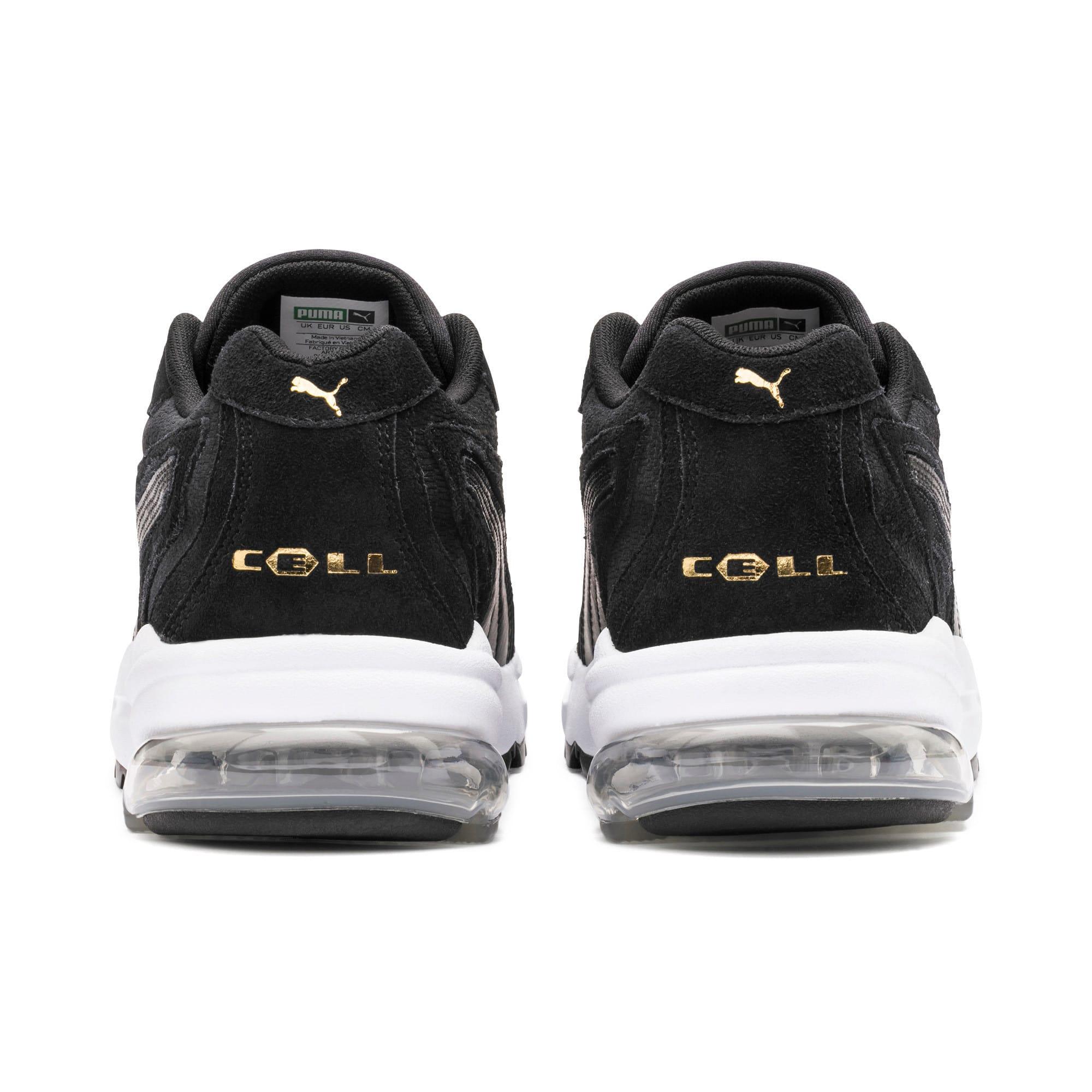 Thumbnail 4 of CELL Stellar Tonal Women's Sneakers, Puma Black-Puma Team Gold, medium