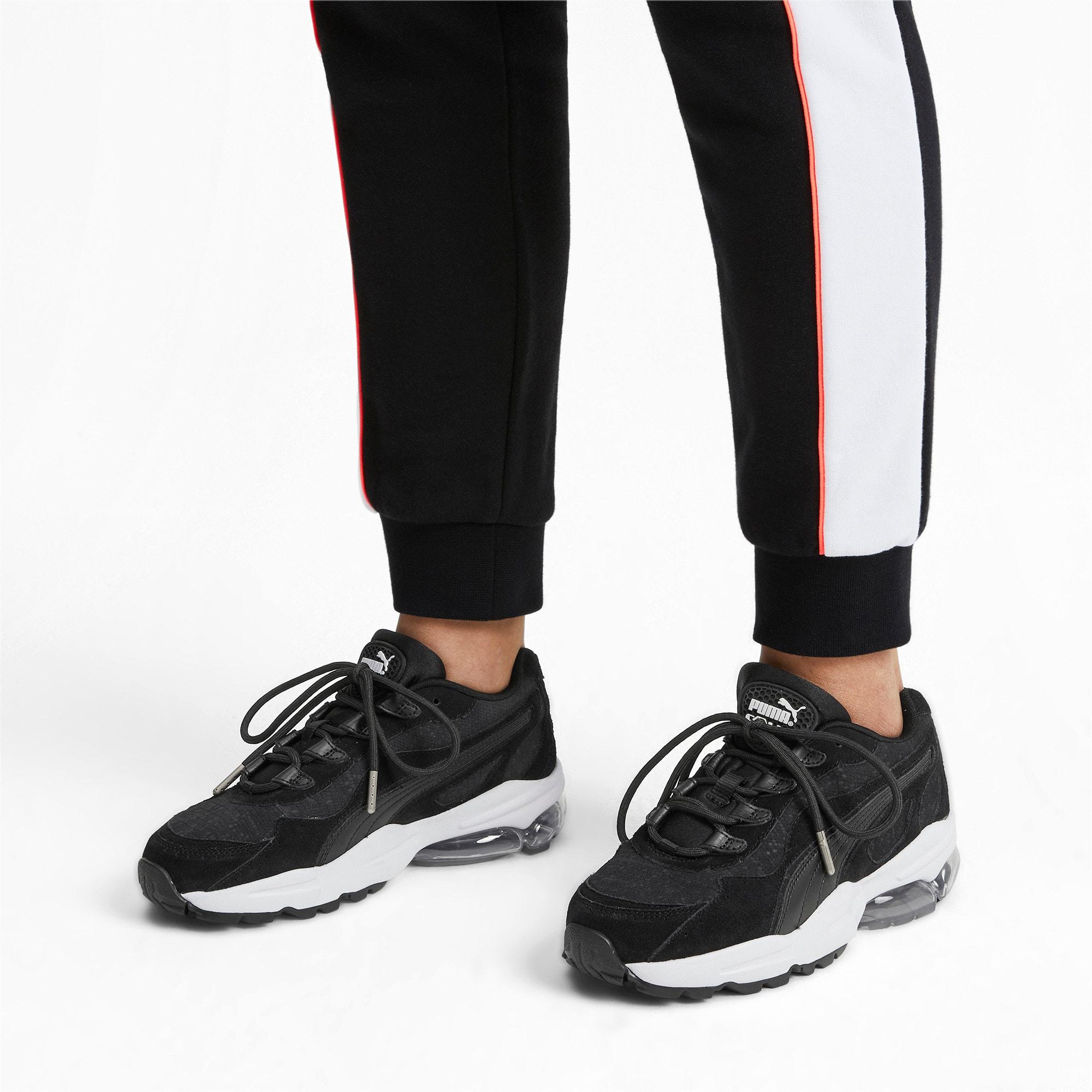 Thumbnail 2 of CELL Stellar Tonal Women's Sneakers, Puma Black-Puma Team Gold, medium
