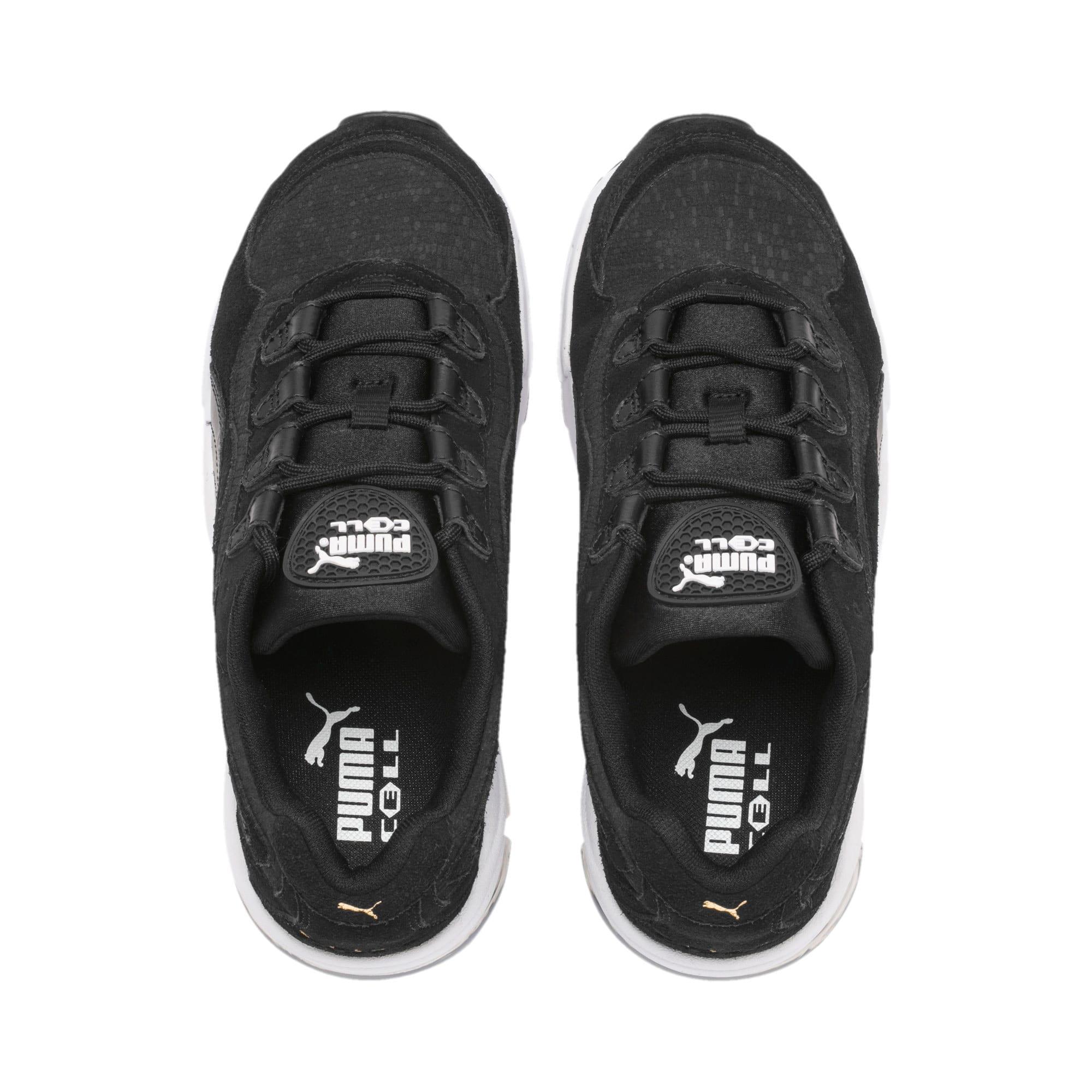 Thumbnail 7 of CELL Stellar Tonal Women's Sneakers, Puma Black-Puma Team Gold, medium