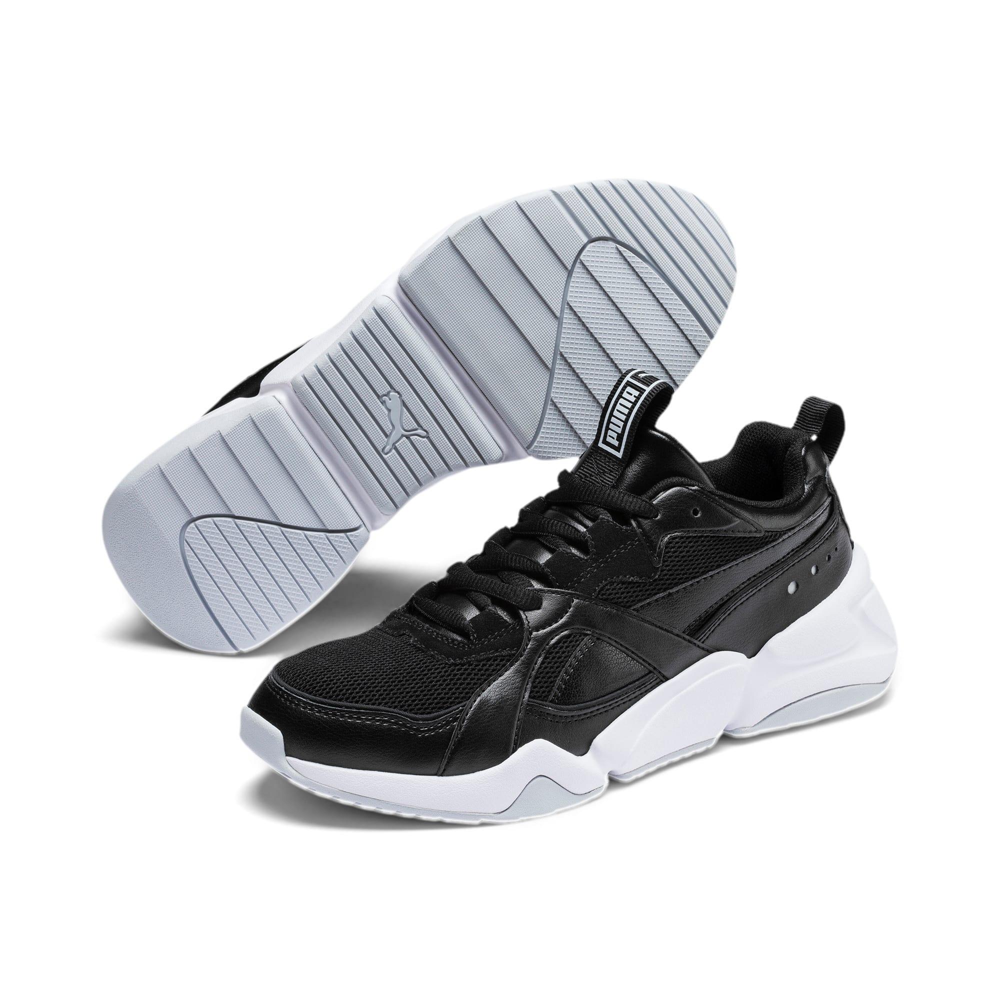 Thumbnail 3 of Nova 2 Women's Sneakers, Puma Black-Heather, medium