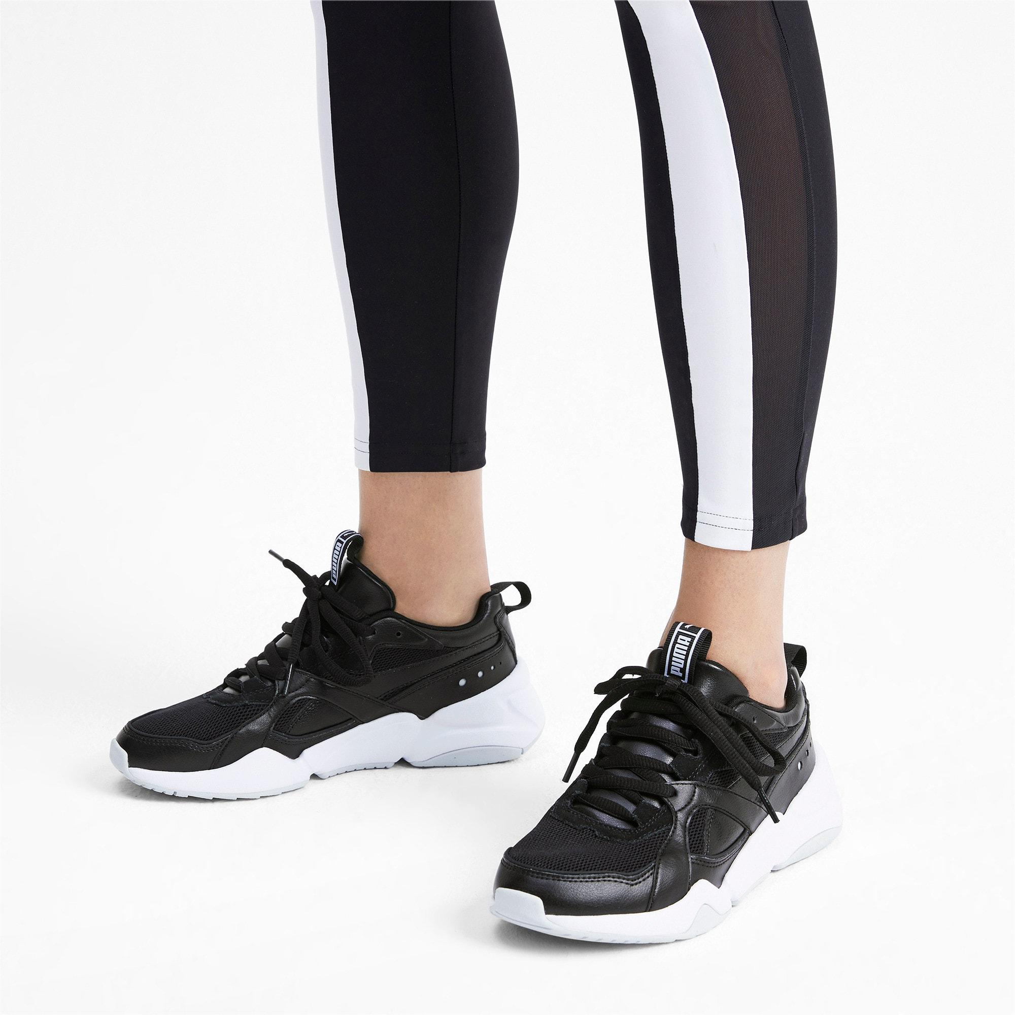 Thumbnail 2 of Nova 2 Women's Sneakers, Puma Black-Heather, medium
