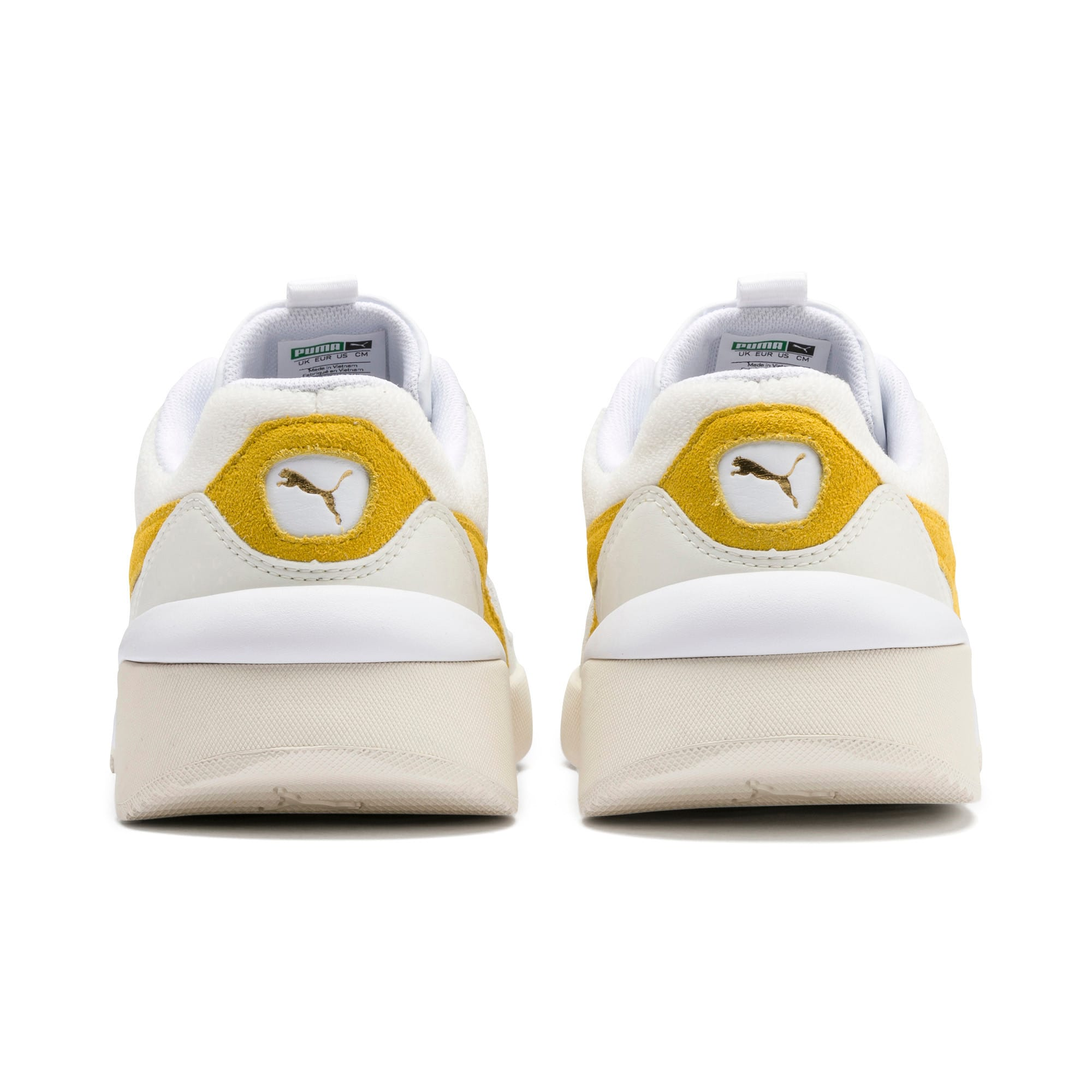Thumbnail 4 of Aeon Heritage Women's Sneakers, Puma White-Sulphur, medium