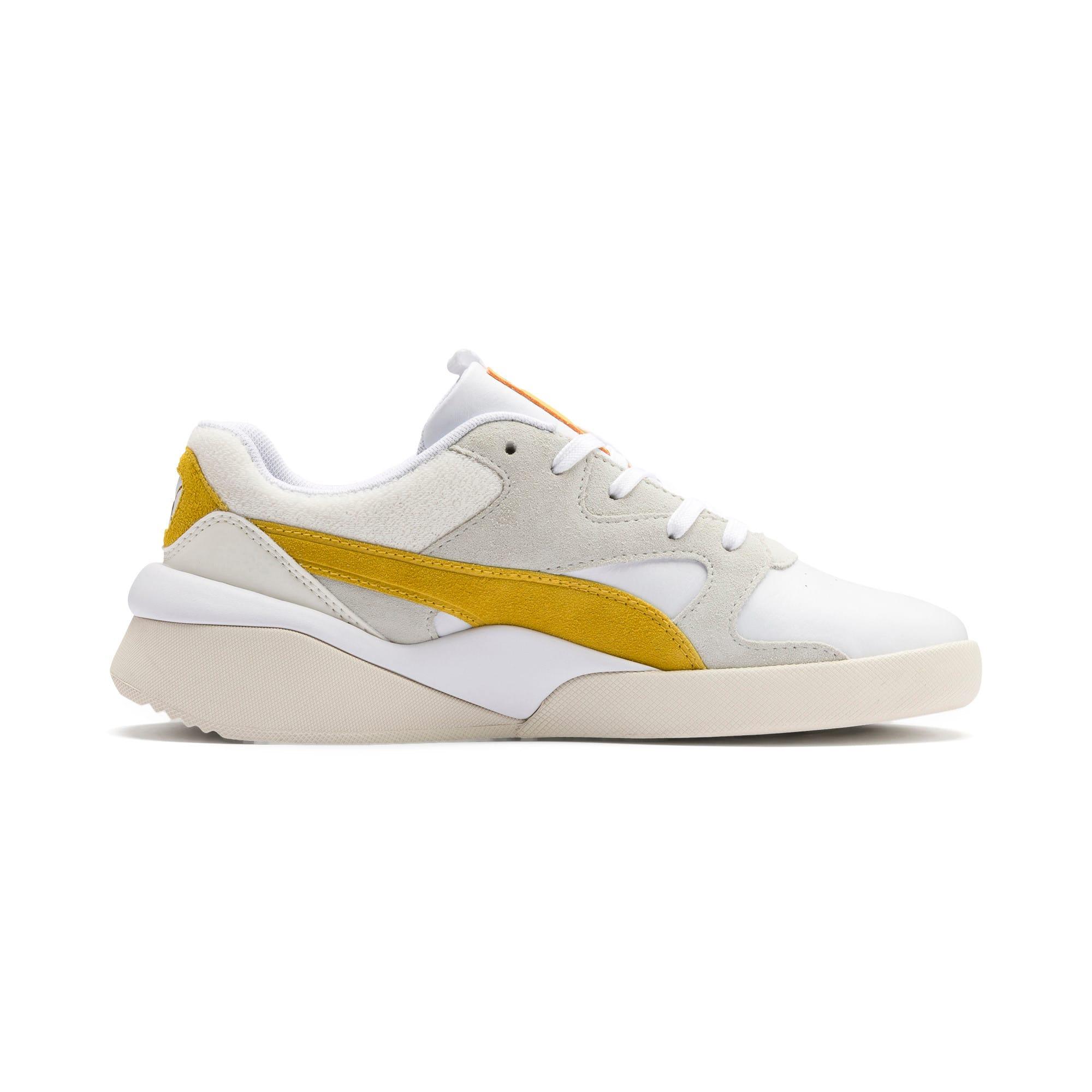 Thumbnail 6 of Aeon Heritage Women's Sneakers, Puma White-Sulphur, medium