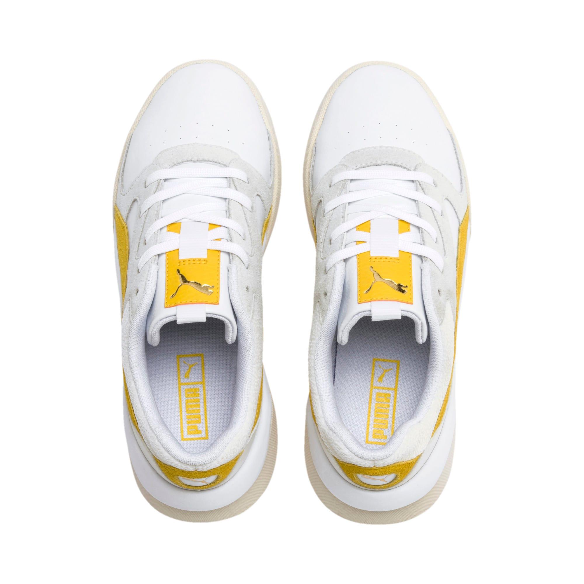 Thumbnail 7 of Aeon Heritage Women's Sneakers, Puma White-Sulphur, medium