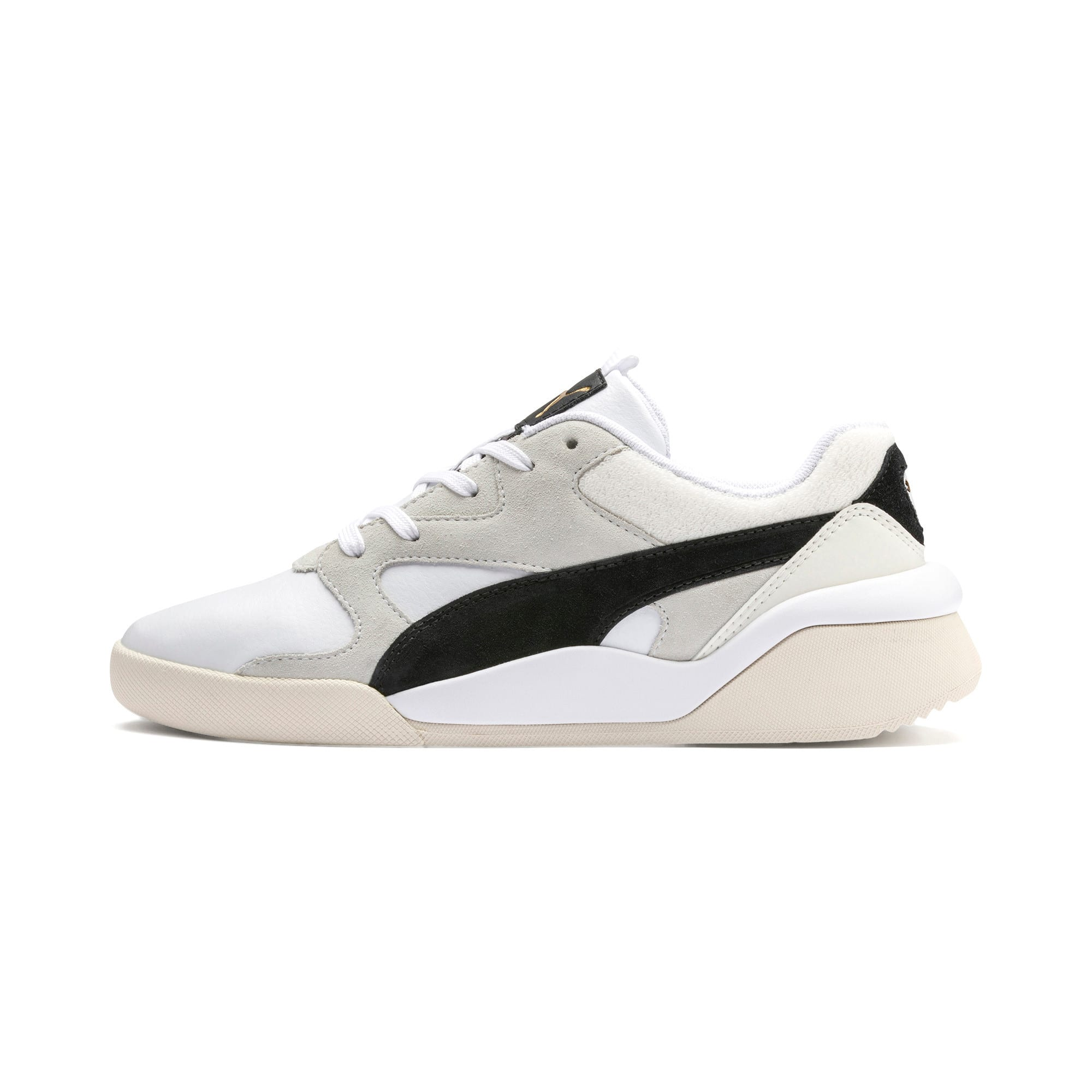 Thumbnail 1 of Aeon Heritage Women's Sneakers, Puma White-Puma Black, medium