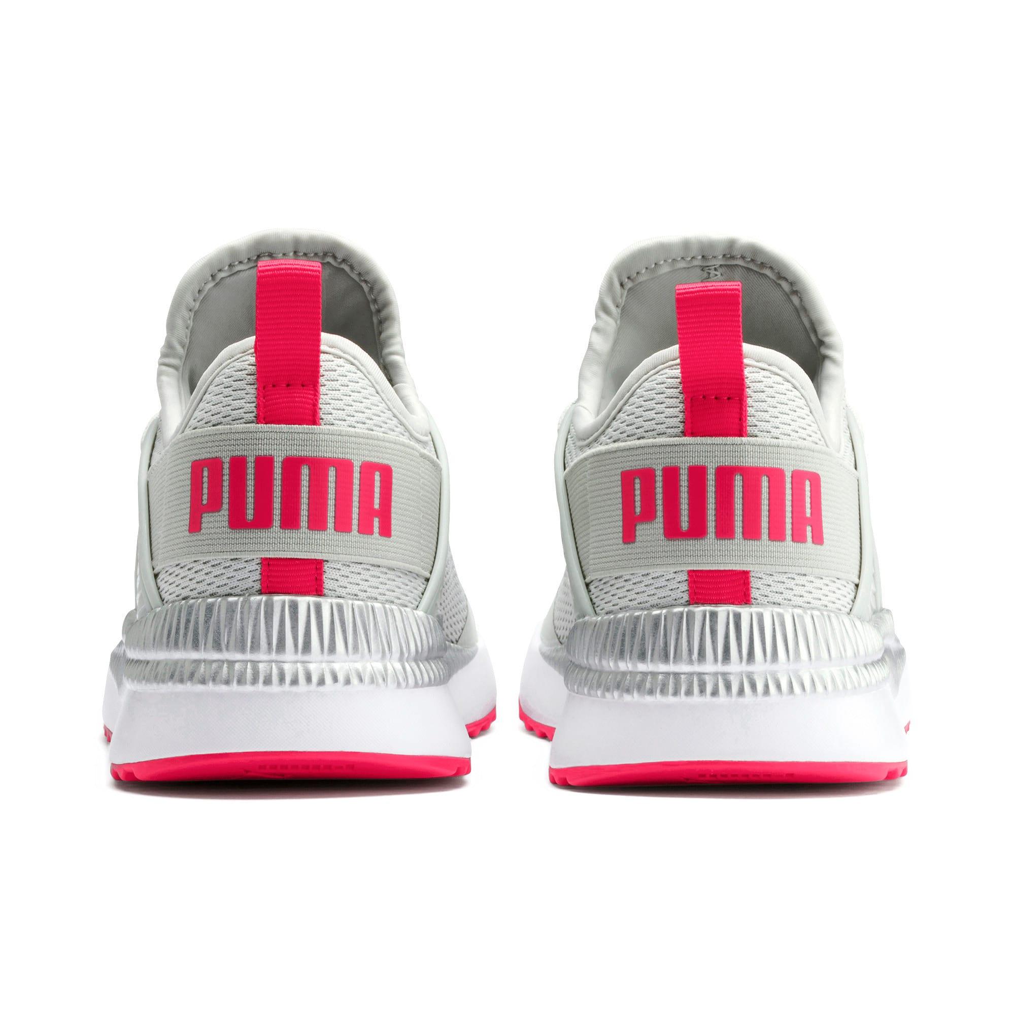 Thumbnail 3 of Pacer Next Cage Metallic Sneakers JR, Gray Violet-Nrgy Rose, medium