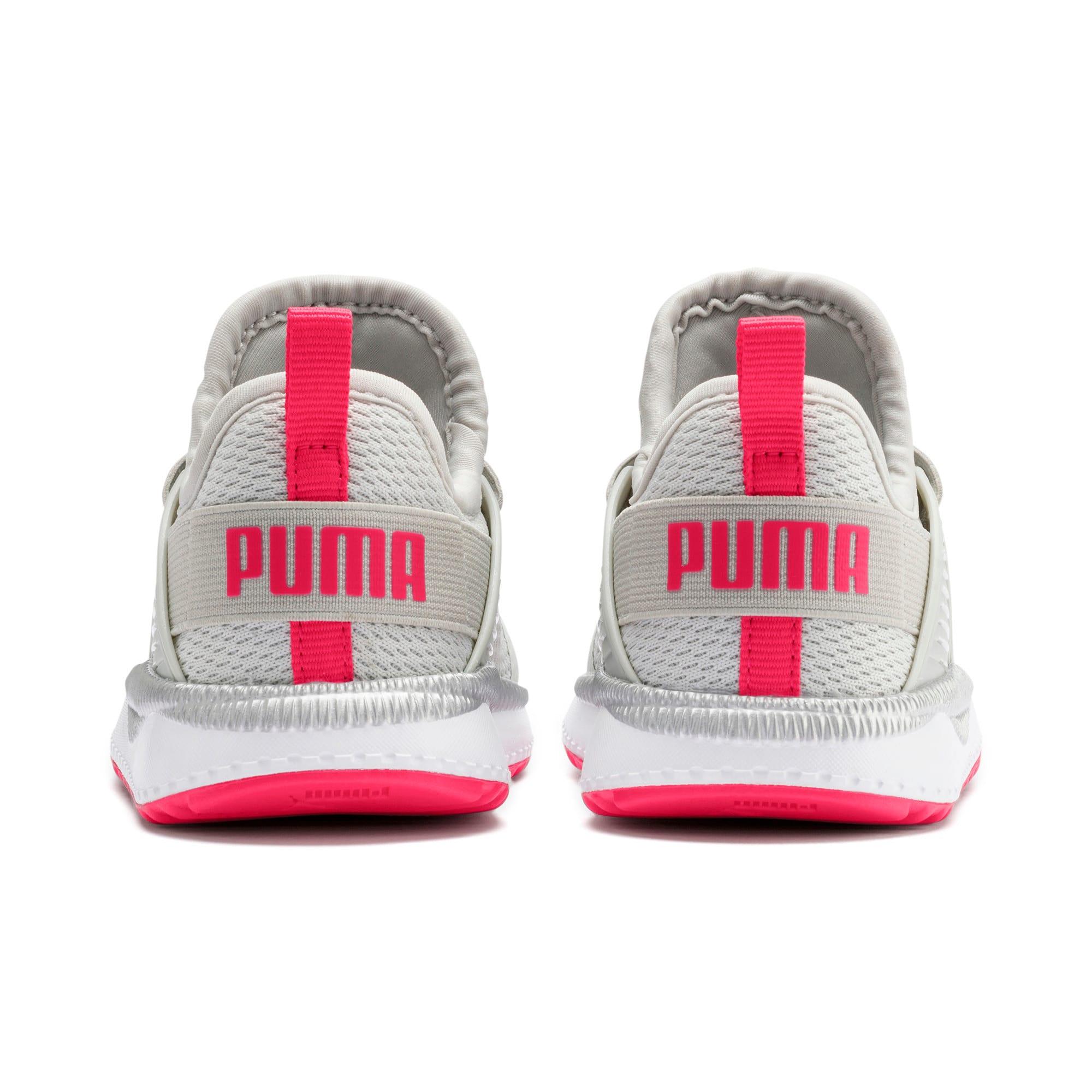 Thumbnail 3 of Pacer Next Cage Metallic Toddler Shoes, Gray Violet-Nrgy Rose, medium