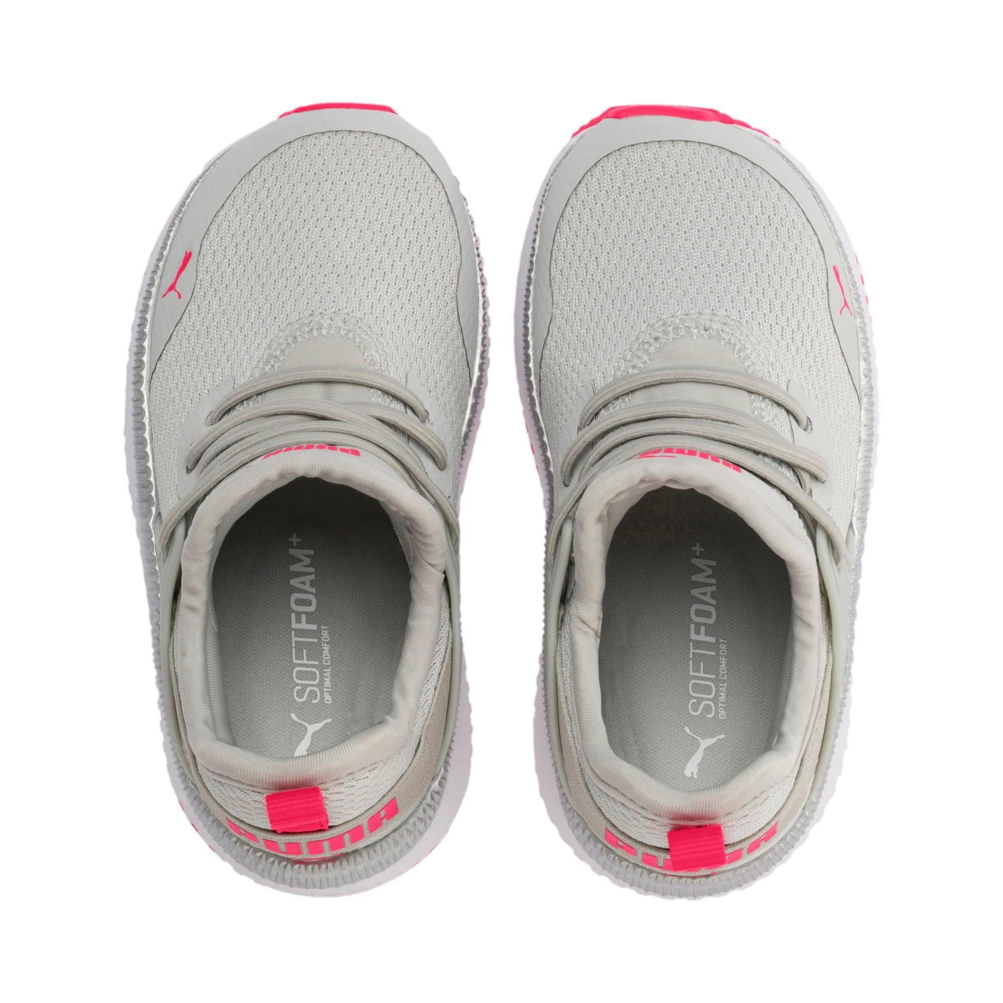 Thumbnail 6 of Pacer Next Cage Metallic Toddler Shoes, Gray Violet-Nrgy Rose, medium
