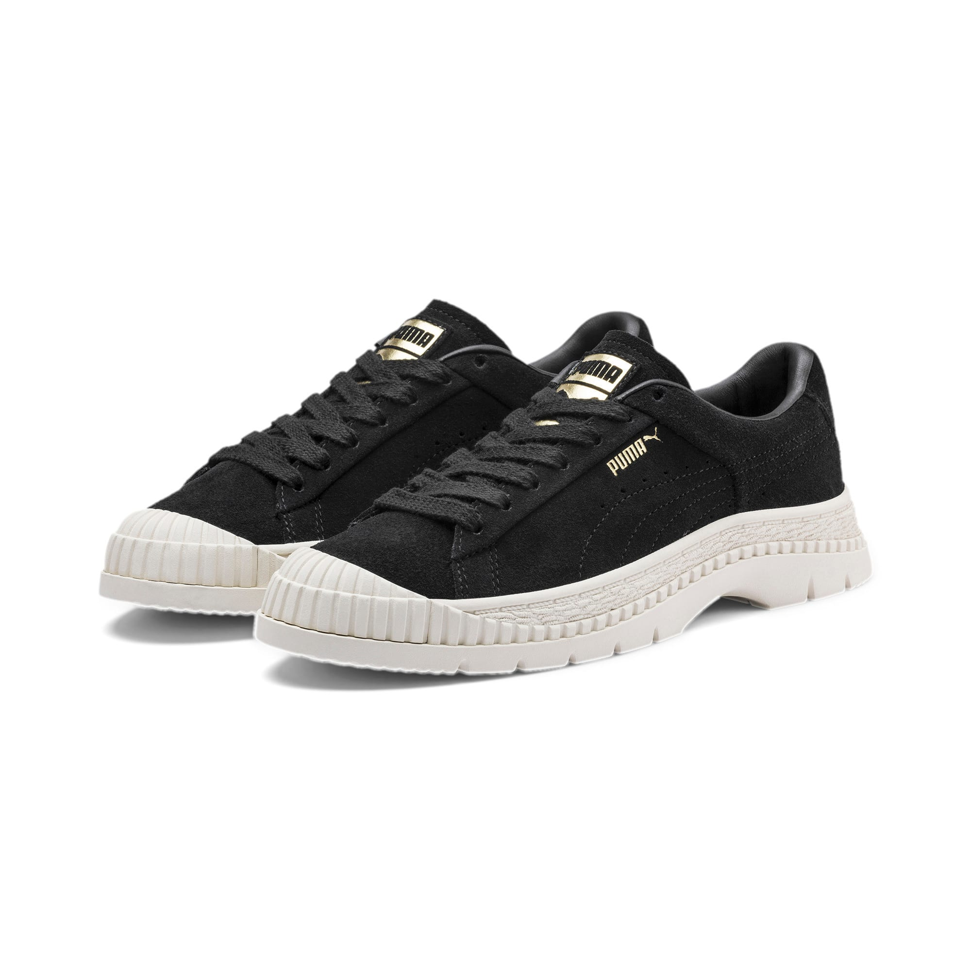Thumbnail 2 of Utility Suede Women's Sneakers, Puma Black, medium