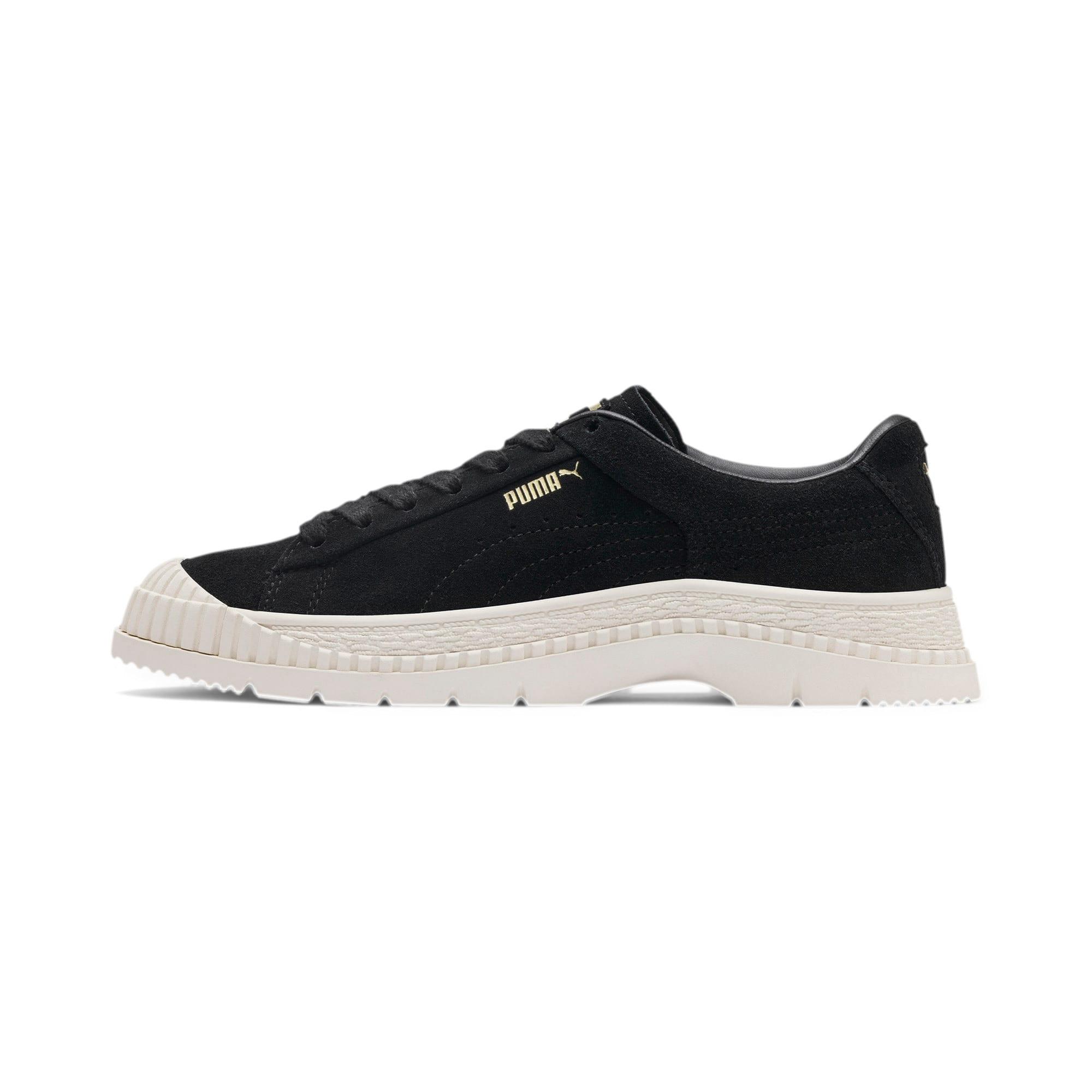 Thumbnail 1 of Utility Suede Women's Sneakers, Puma Black, medium