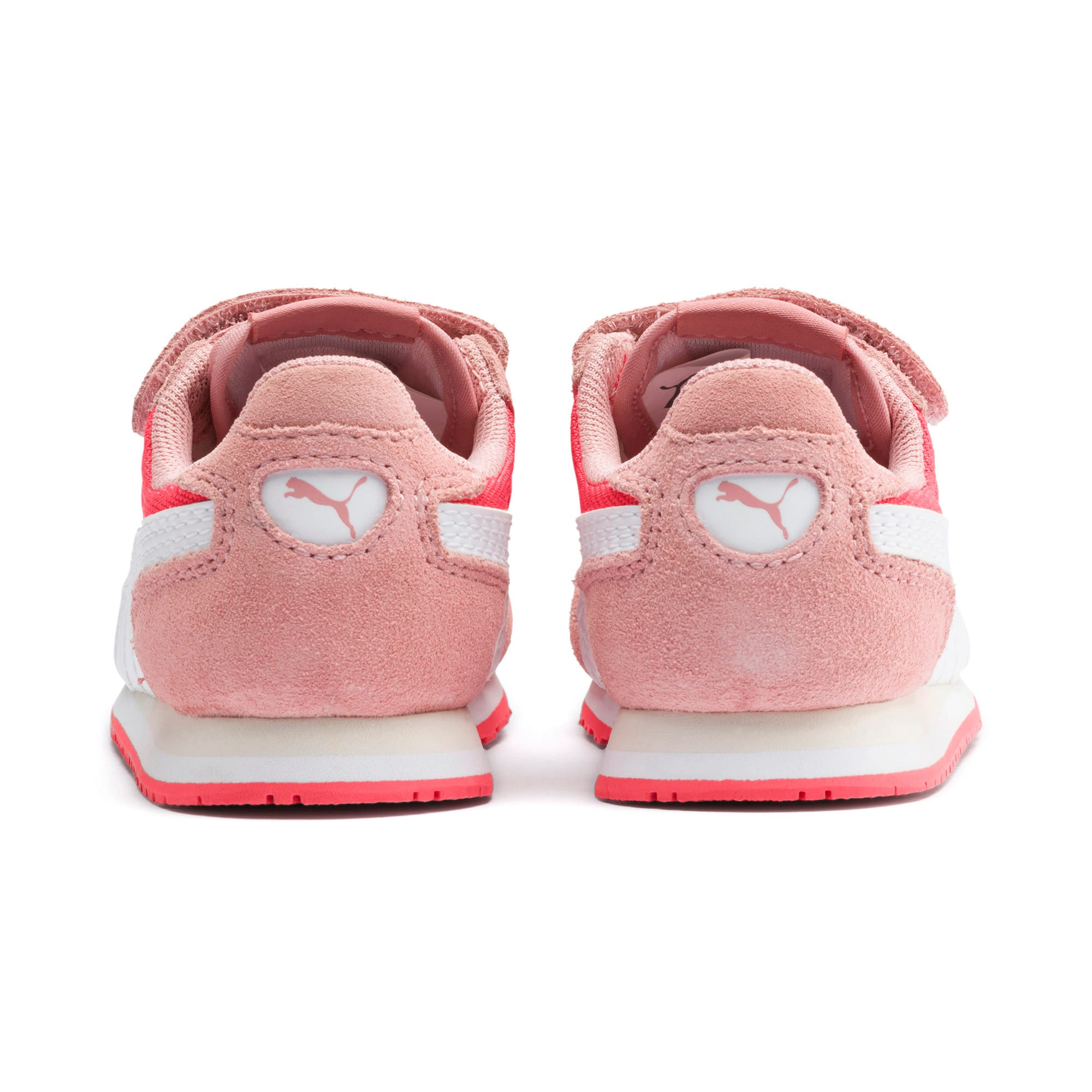 Thumbnail 3 of Cabana Racer Toddler Shoes, Calypso Coral-Bridal Rose, medium