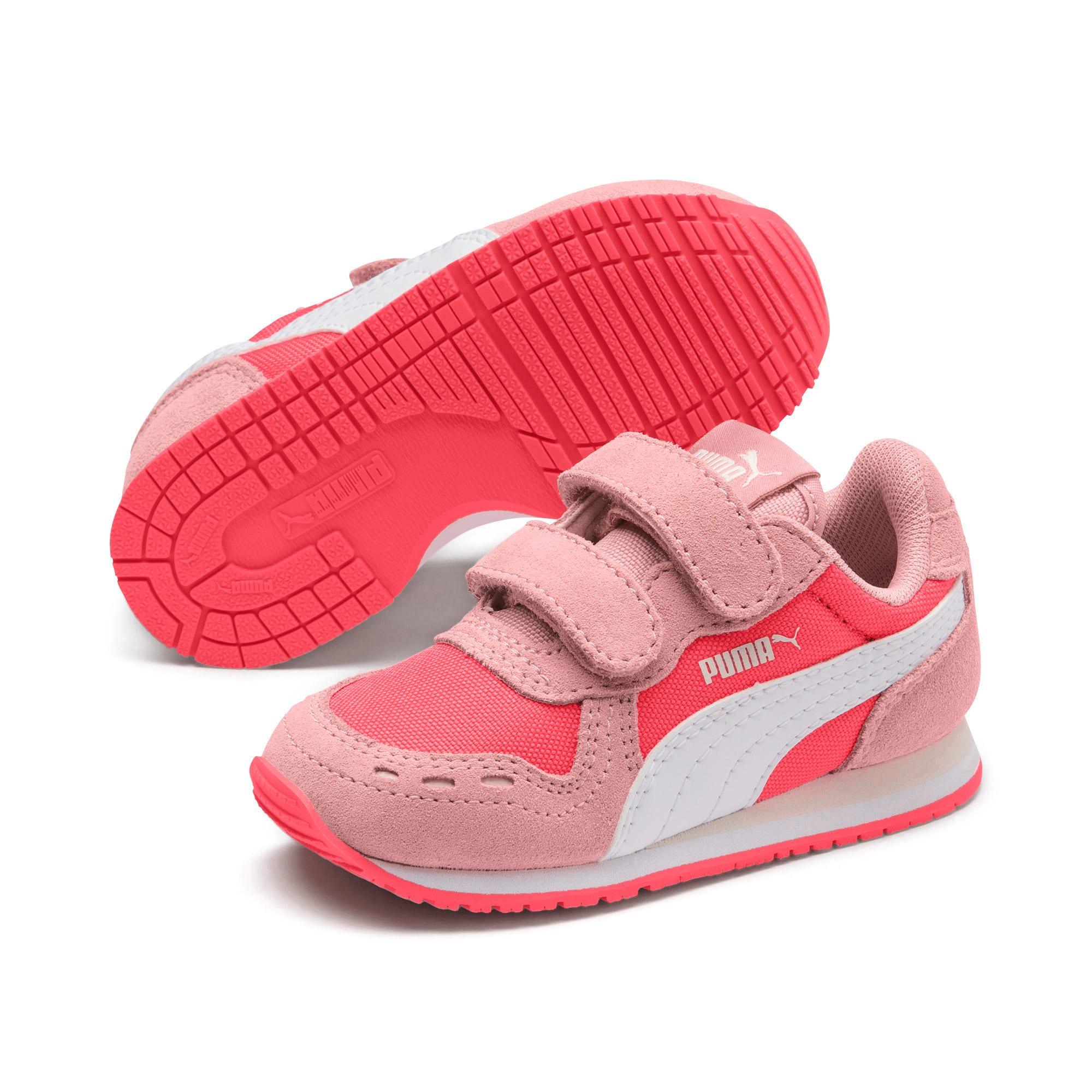 Thumbnail 2 of Cabana Racer Toddler Shoes, Calypso Coral-Bridal Rose, medium
