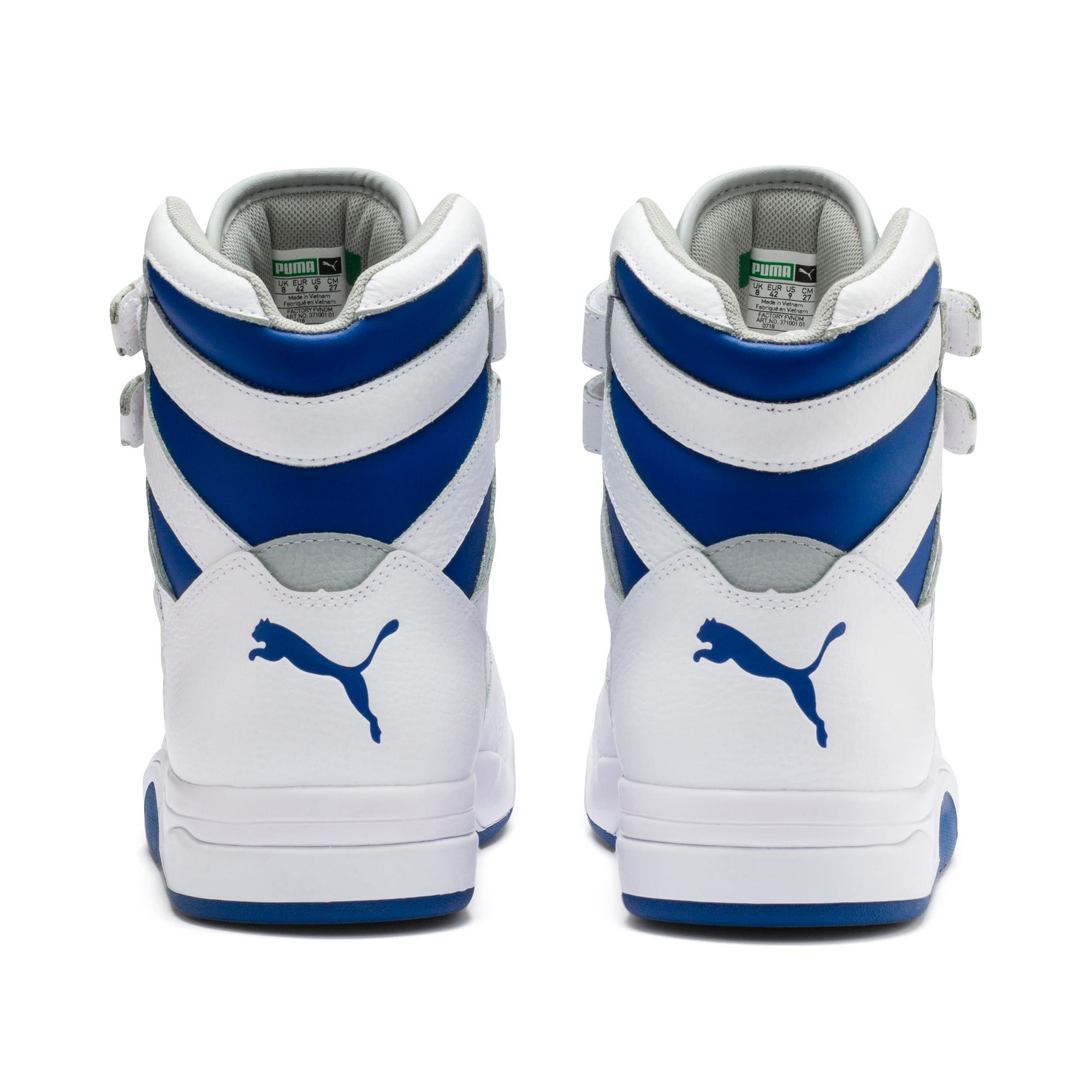 Thumbnail 4 of Palace Guard Mid Athletic Sneakers, P Wht-High Rise-Galaxy Blue, medium
