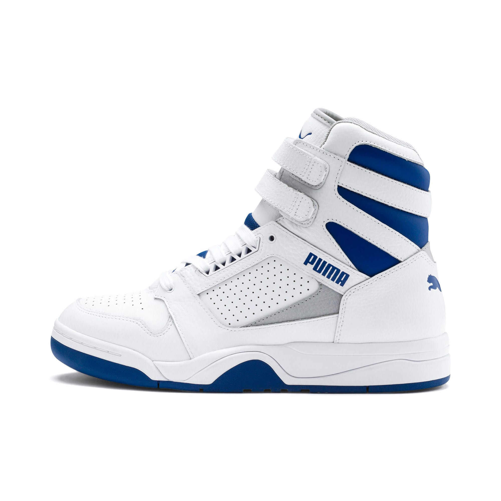 Thumbnail 1 of Palace Guard Mid Athletic Sneakers, P Wht-High Rise-Galaxy Blue, medium