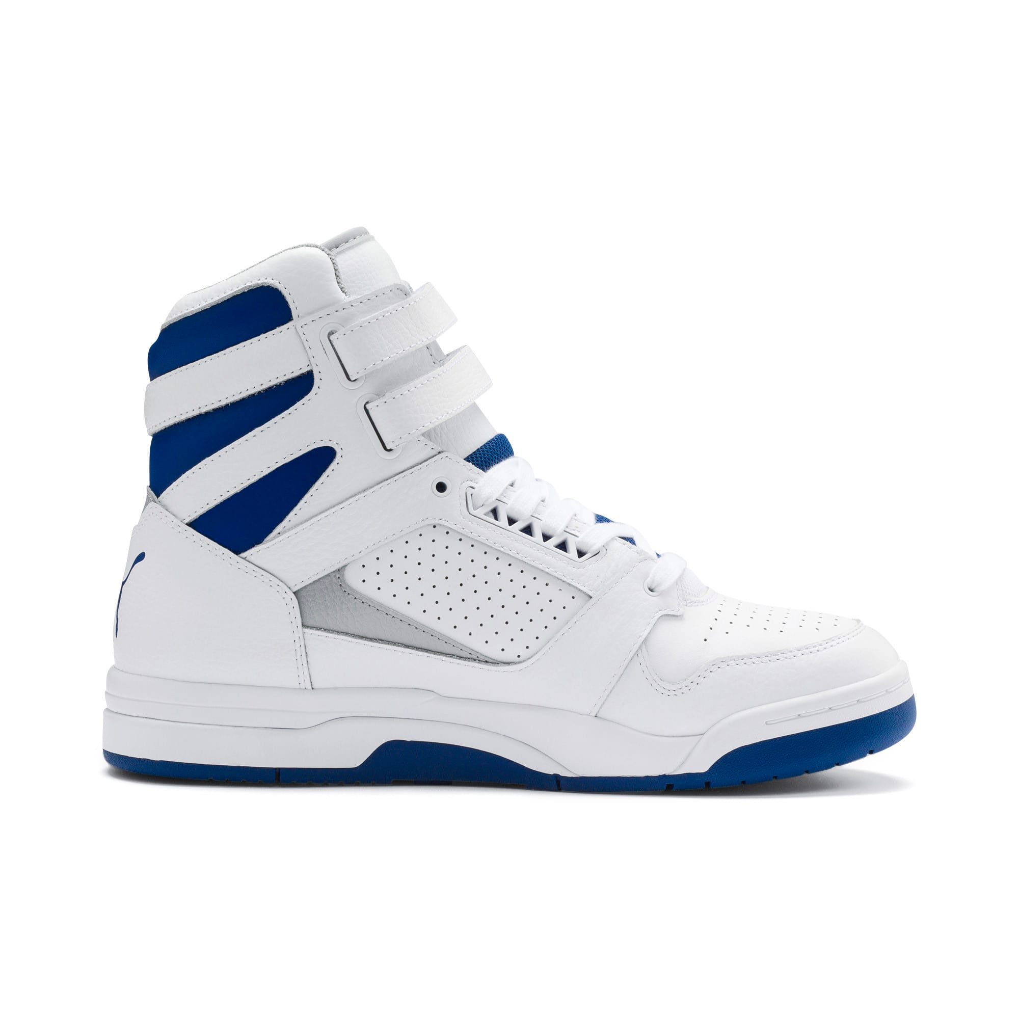 Thumbnail 6 of Palace Guard Mid Athletic Sneakers, P Wht-High Rise-Galaxy Blue, medium