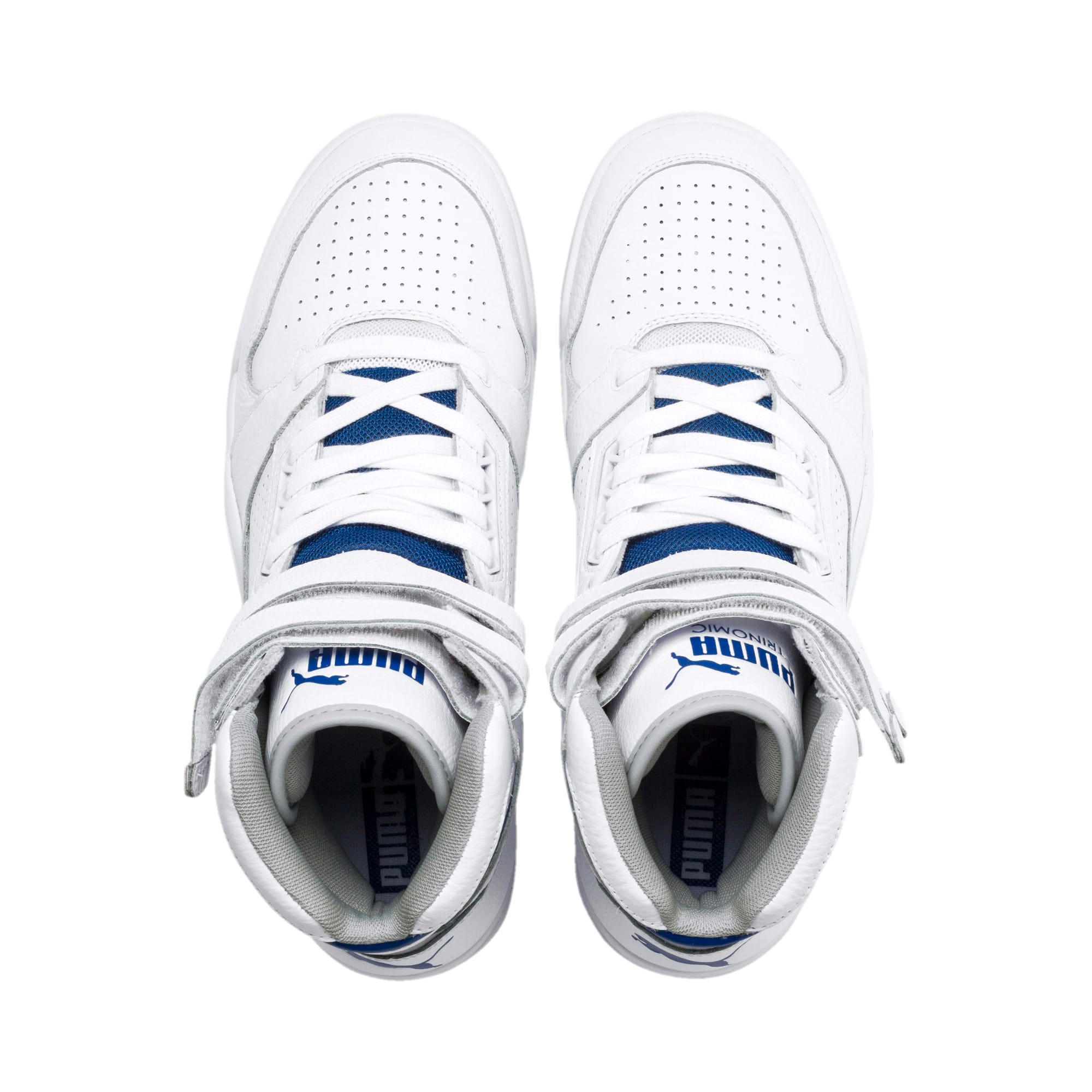 Thumbnail 7 of Palace Guard Mid Athletic Sneakers, P Wht-High Rise-Galaxy Blue, medium