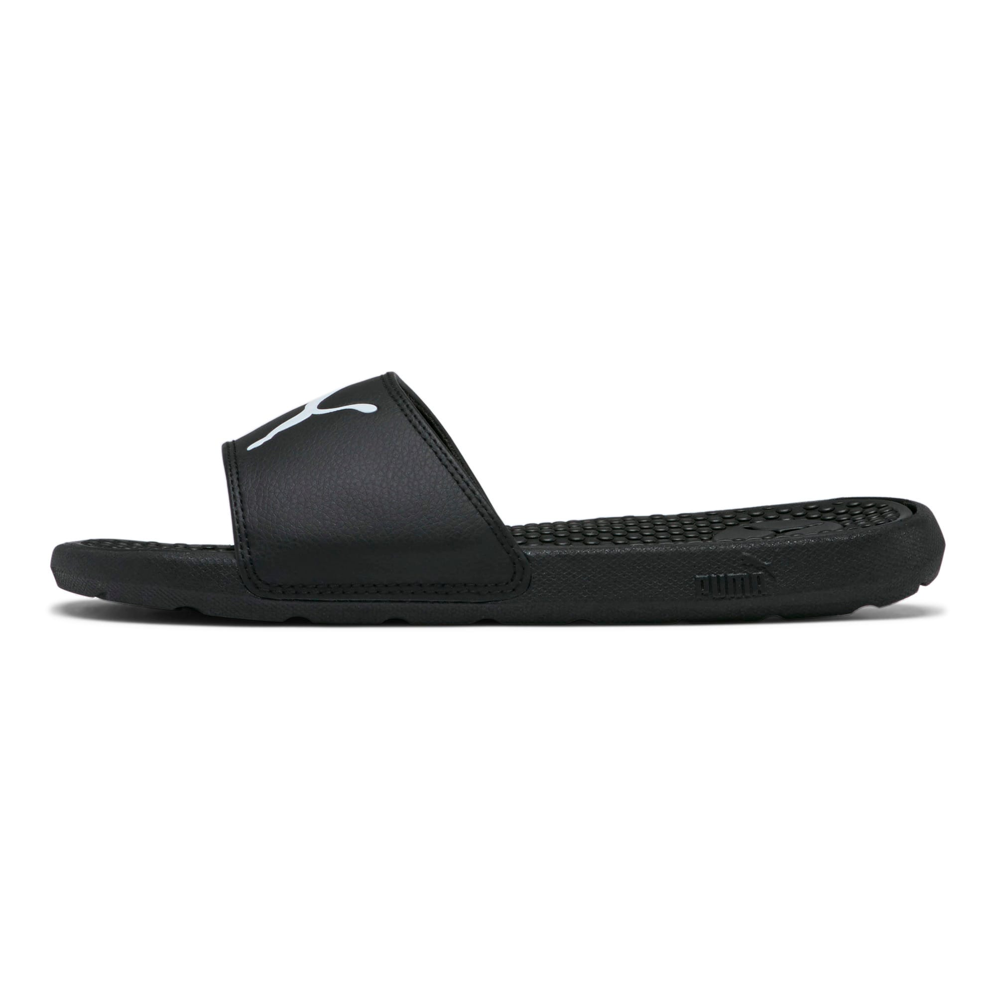Thumbnail 1 of Cool Cat Sport Women's Slides, Puma Black-Puma White, medium