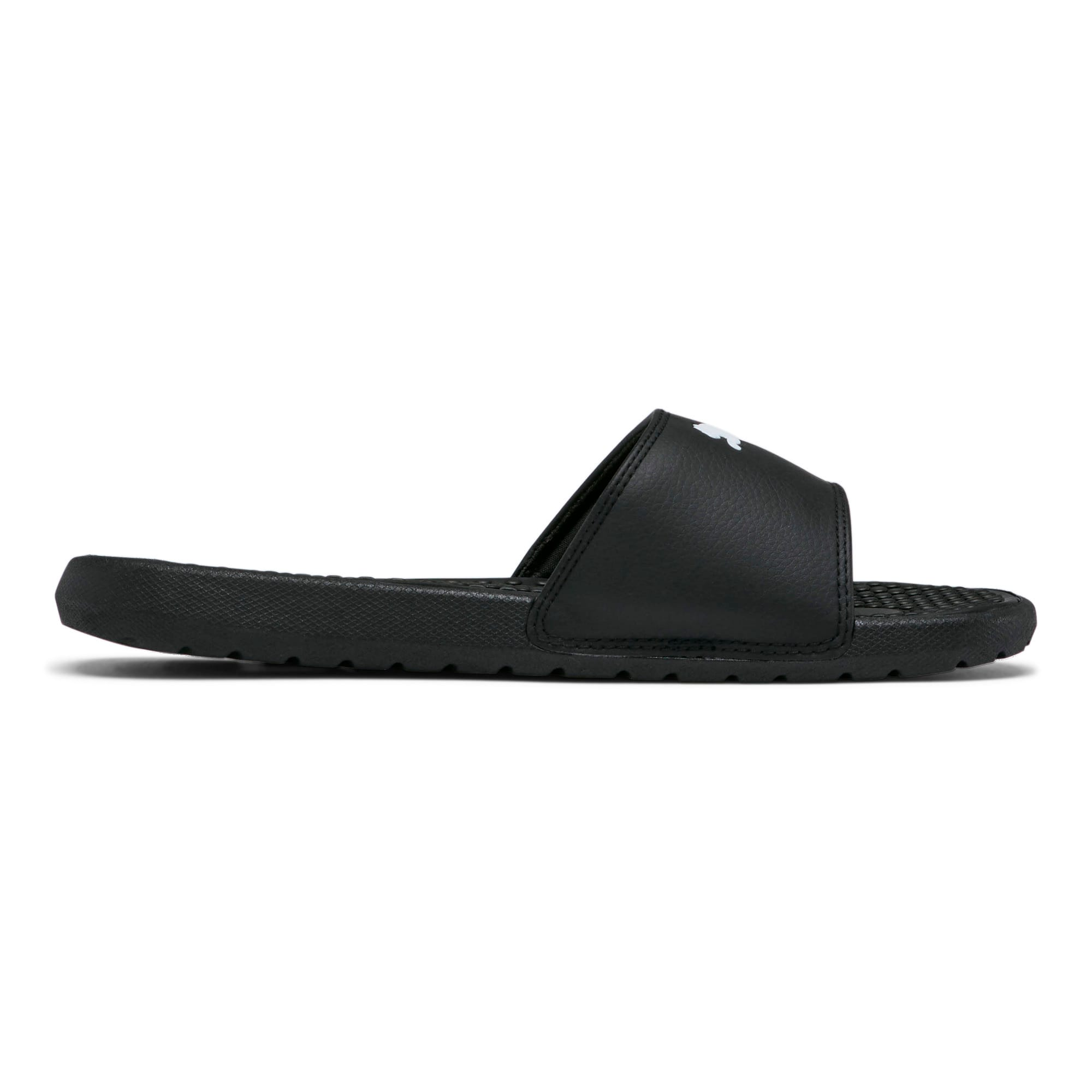 Thumbnail 4 of Cool Cat Sport Women's Slides, Puma Black-Puma White, medium