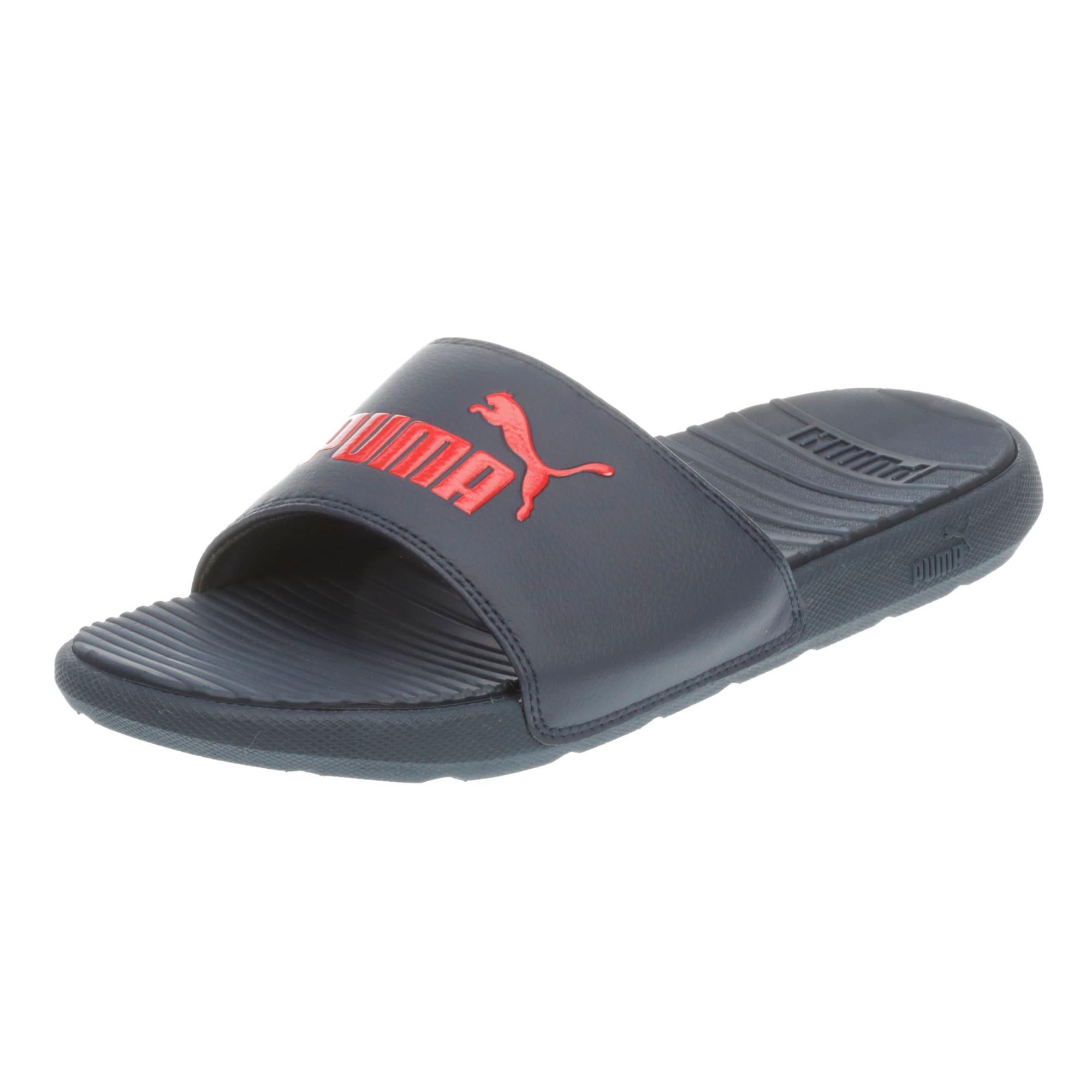 puma red eva flip flops
