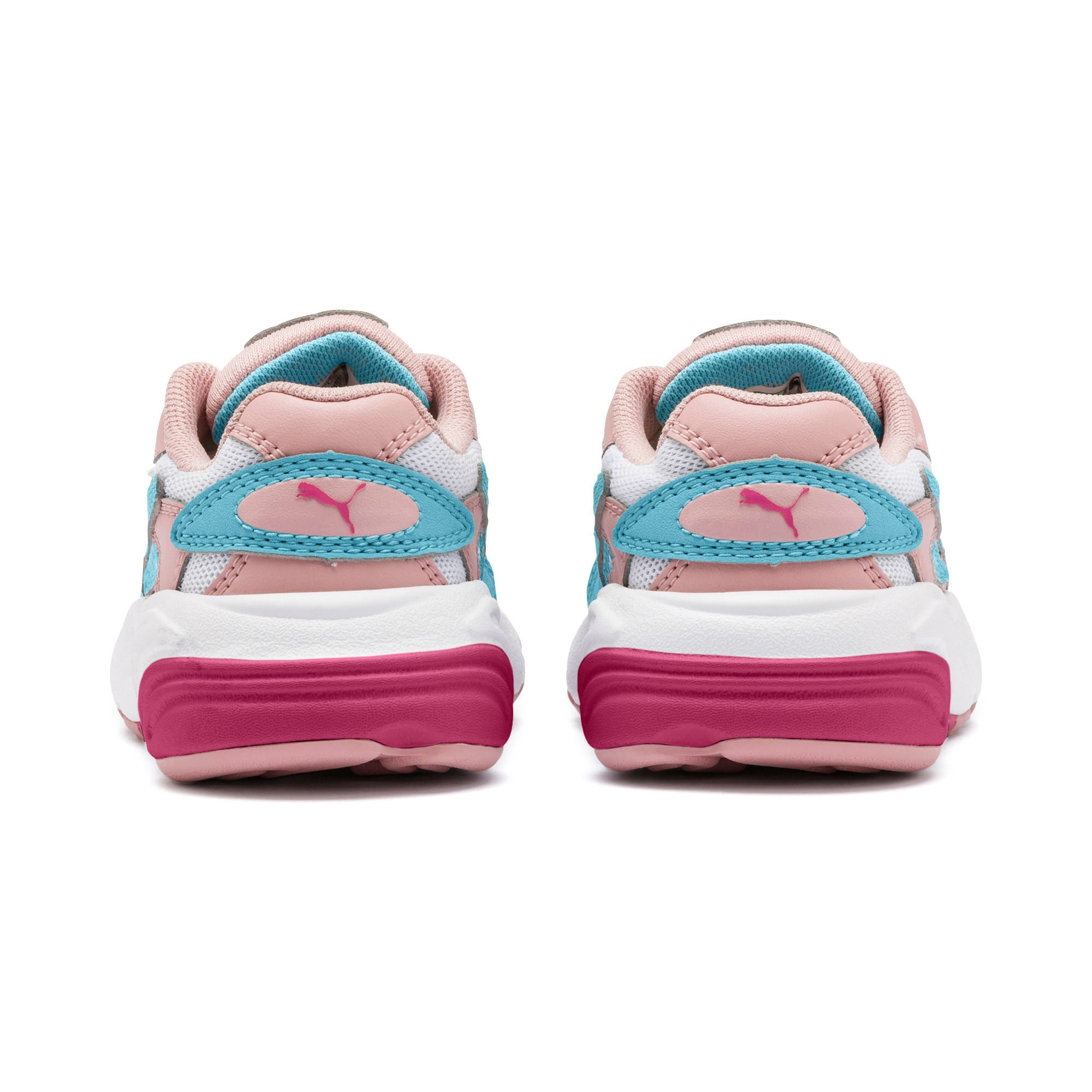 Thumbnail 3 of CELL Alien Cosmic Babies' Trainers, Bridal Rose-Milky Blue, medium