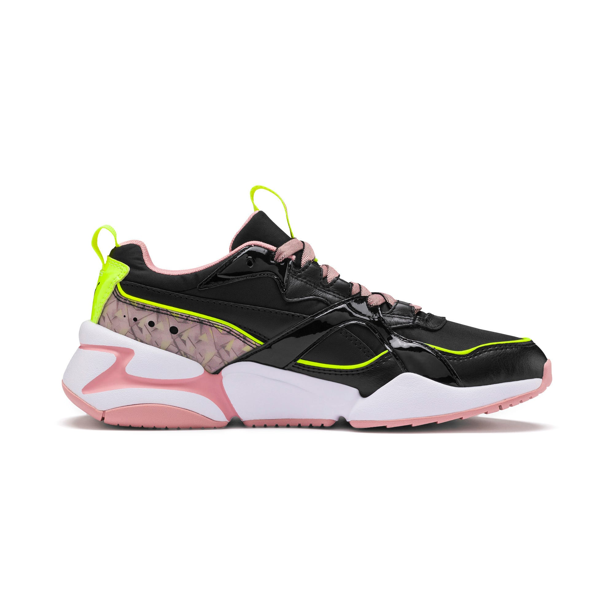 Thumbnail 6 of Nova 2 Shift Women's Trainers, Puma Black-Bridal Rose, medium