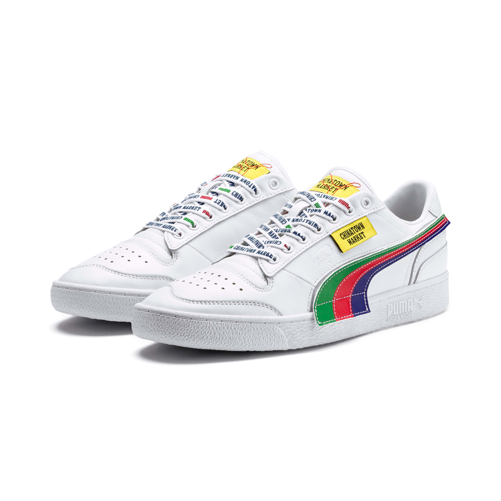 Thumbnail 10 of PUMA x CHINATOWN MARKET Ralph Sampson Lo Sneakers, Puma White, medium