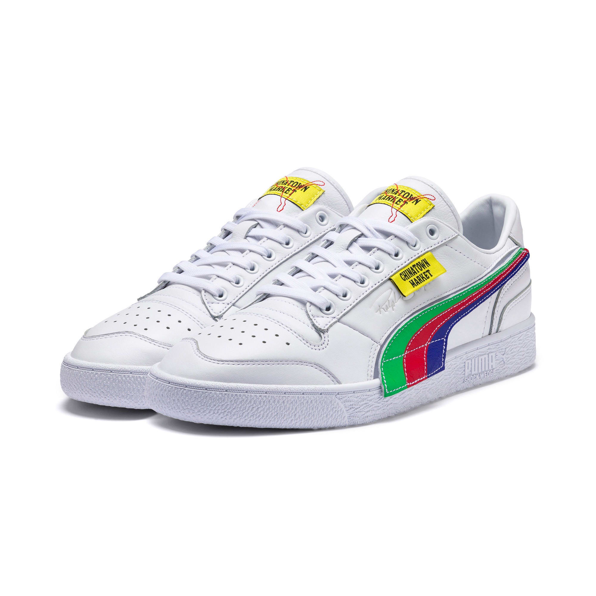 Thumbnail 2 of PUMA x CHINATOWN MARKET Ralph Sampson Lo Sneakers, Puma White, medium