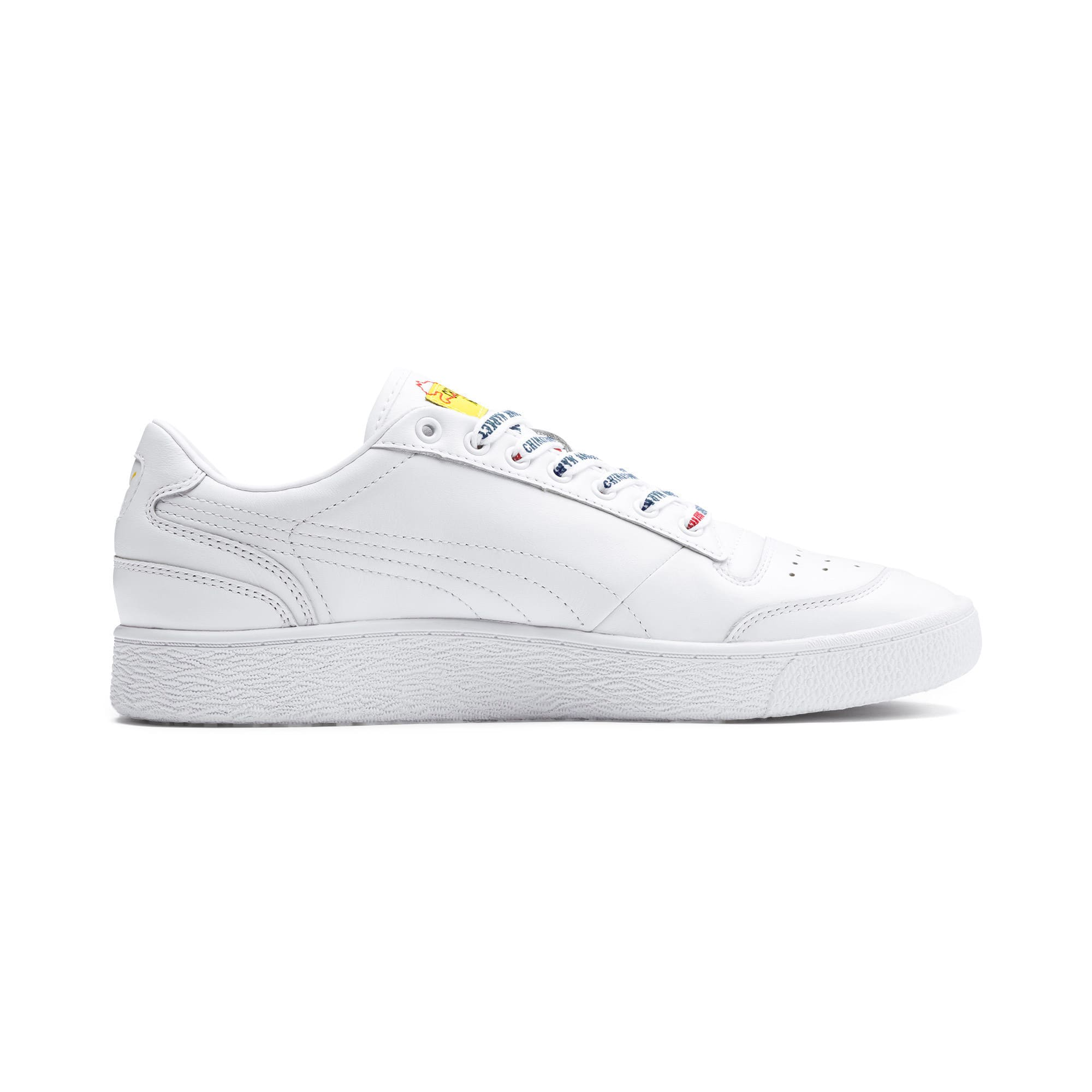 Thumbnail 5 of PUMA x CHINATOWN MARKET Ralph Sampson Lo Sneakers, Puma White, medium