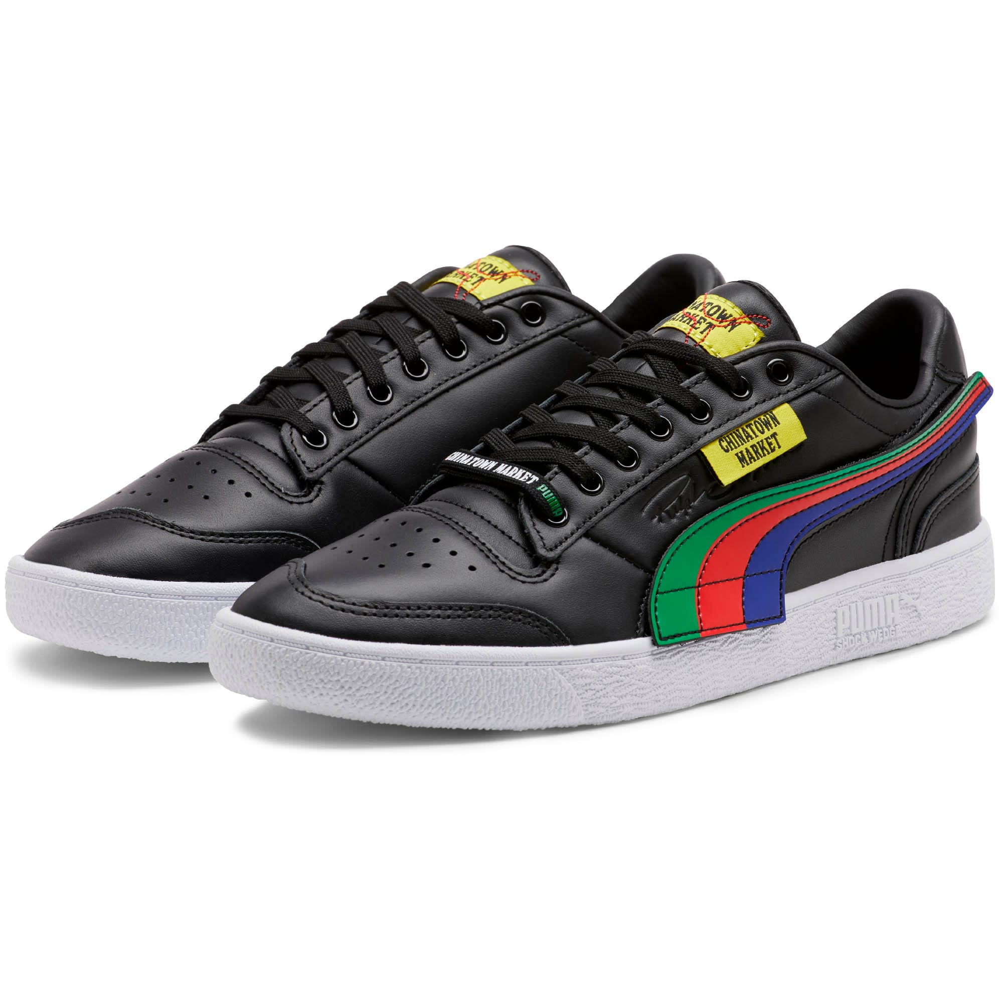 Thumbnail 2 of PUMA x CHINATOWN MARKET Ralph Sampson Lo Sneakers, Puma Black, medium