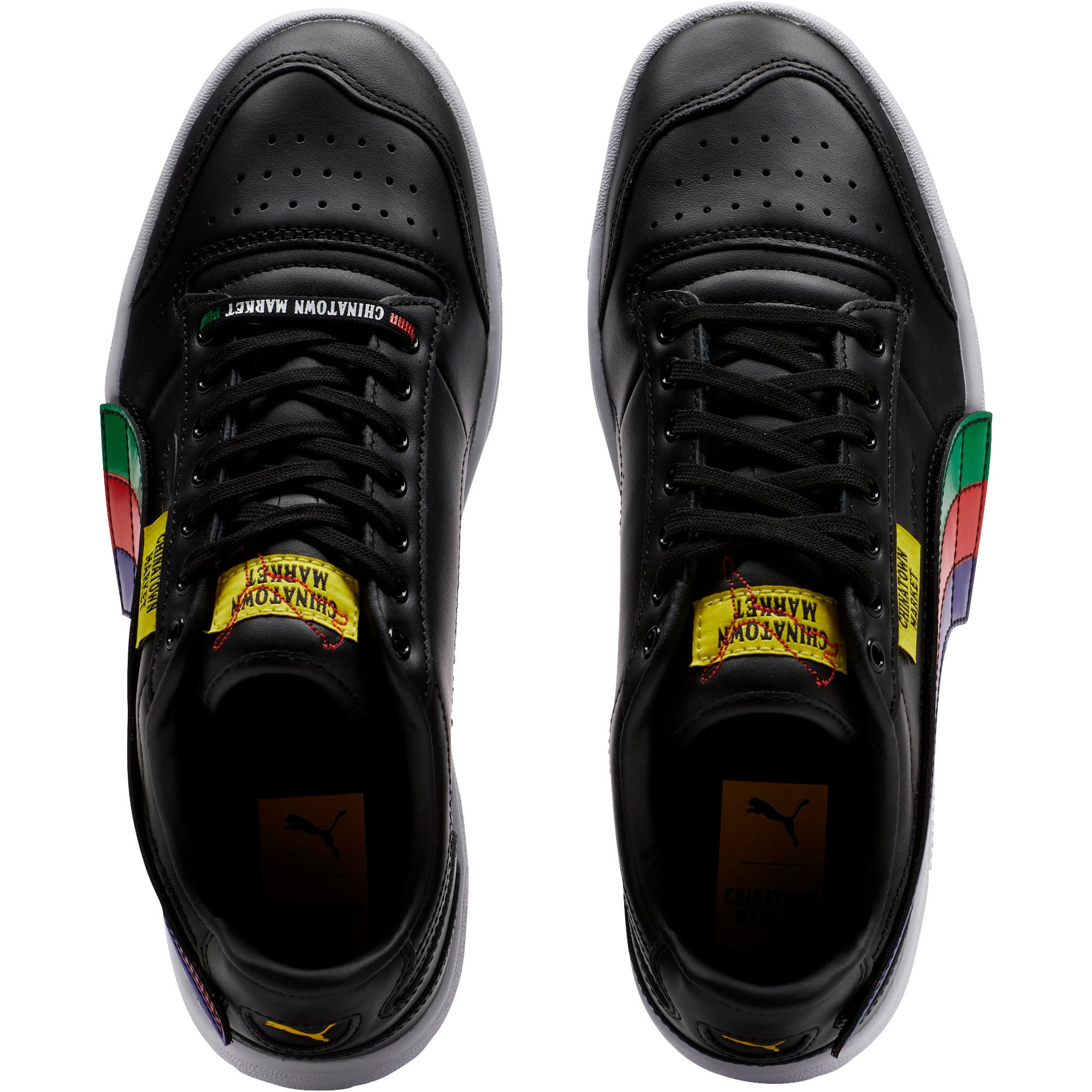 Thumbnail 5 of PUMA x CHINATOWN MARKET Ralph Sampson Lo Sneakers, Puma Black, medium