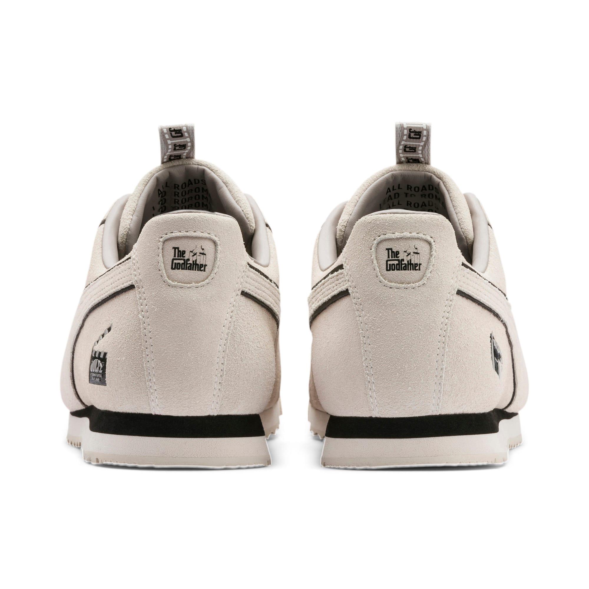 Thumbnail 3 of PUMA x THE GODFATHER Roma Woltz Sneakers, WINDCHIME-Puma Black, medium