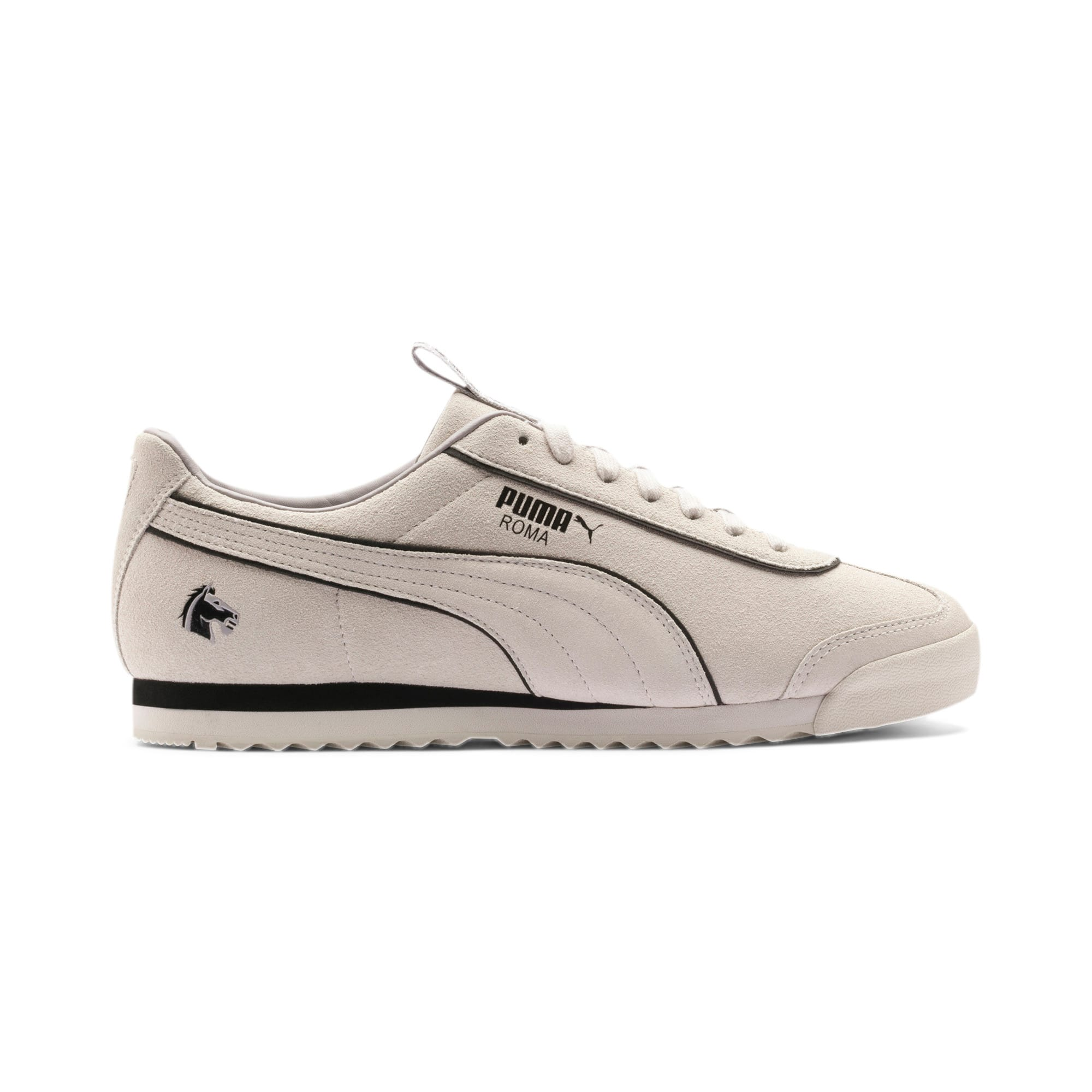 Thumbnail 7 of PUMA x THE GODFATHER Roma Woltz Sneakers, WINDCHIME-Puma Black, medium