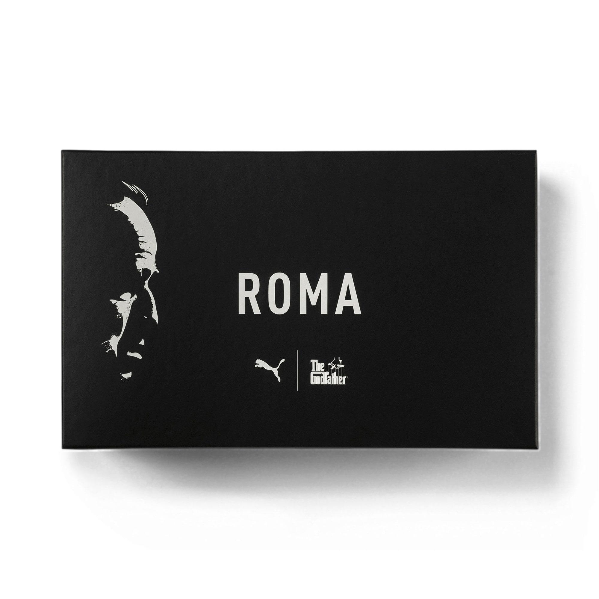 Thumbnail 8 of PUMA x THE GODFATHER Roma Woltz Sneakers, WINDCHIME-Puma Black, medium