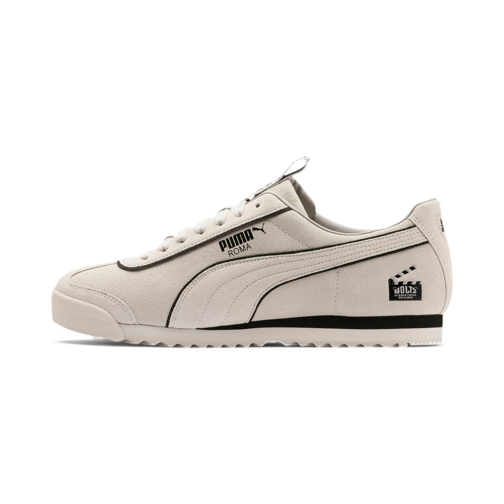 Thumbnail 1 of Roma The Godfather WOLTZ Trainers, WINDCHIME-Puma Black, medium