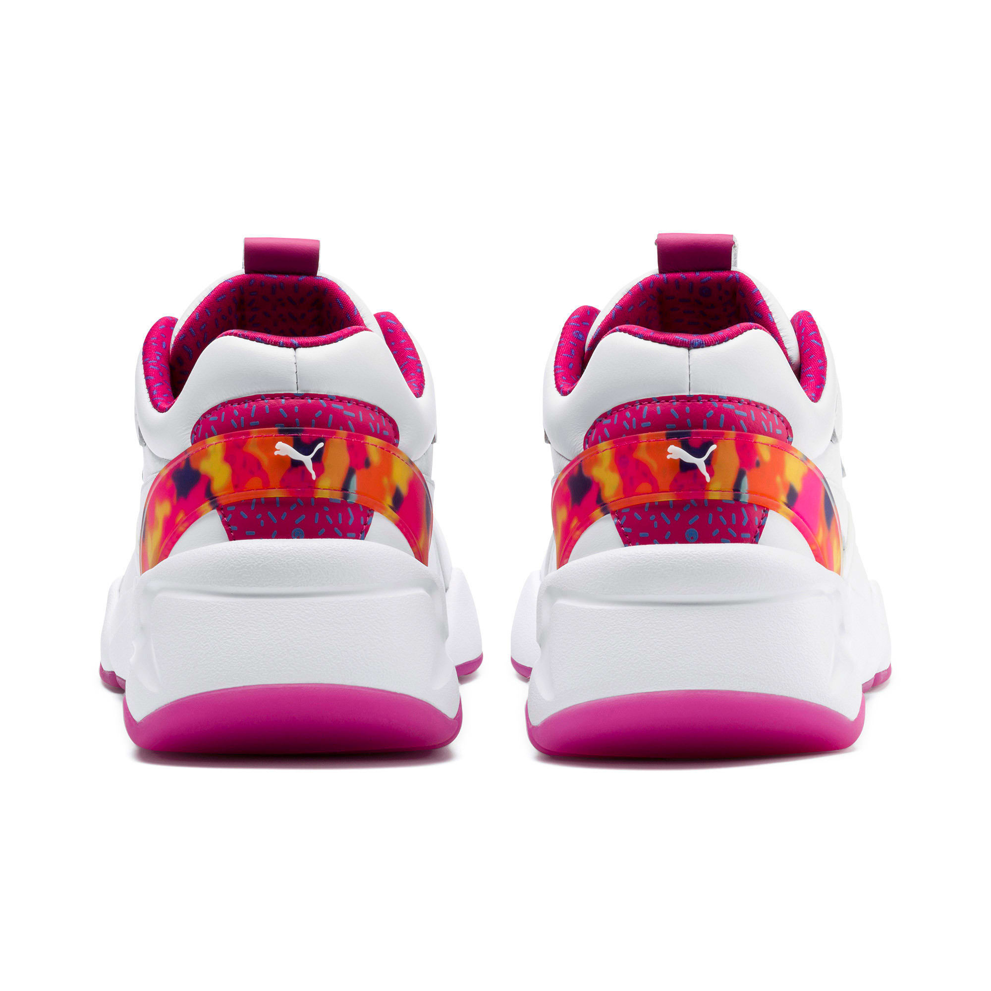 Thumbnail 3 of Nova x Barbie Flash Women's Sneakers, Puma White-CABARET, medium