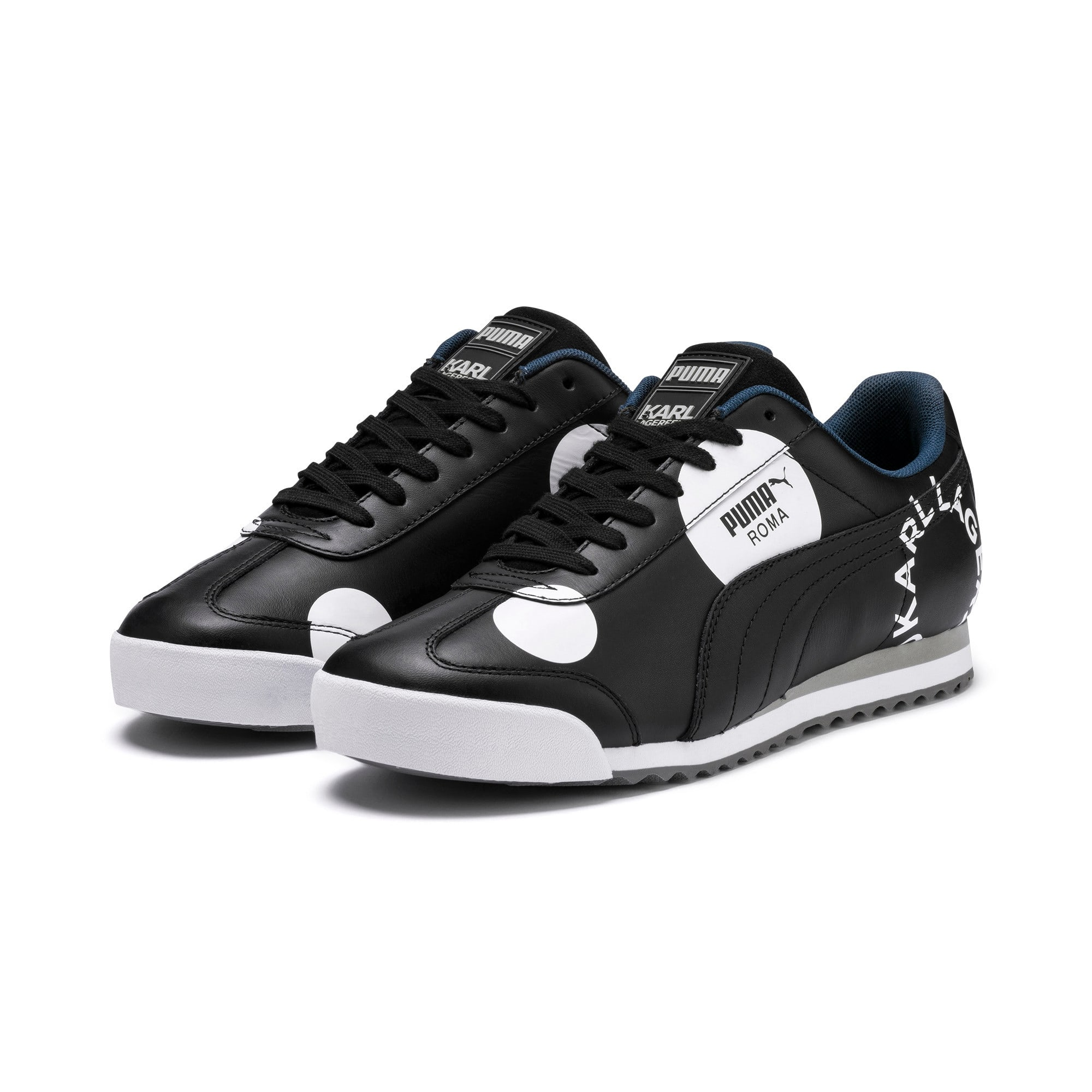 Thumbnail 2 of Basket Roma Polkadot PUMA x KARL LAGERFELD, Puma Black, medium