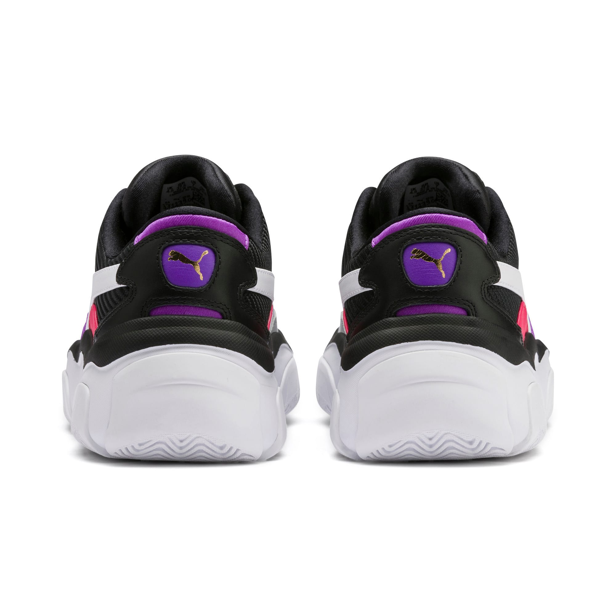 Thumbnail 4 of STORM.Y Damen Sneaker, Puma Black-Gray Violet, medium