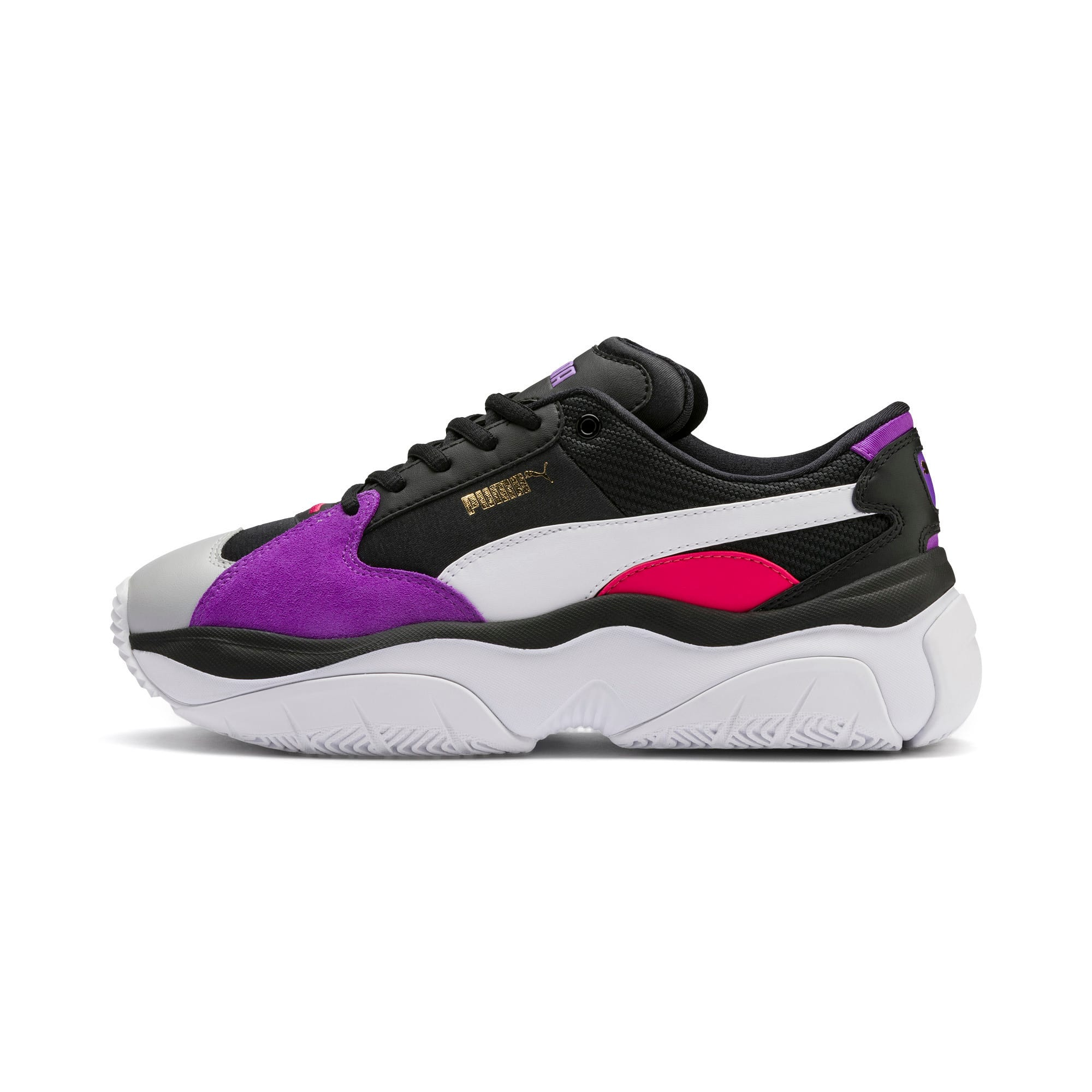 Thumbnail 1 of STORM.Y Damen Sneaker, Puma Black-Gray Violet, medium