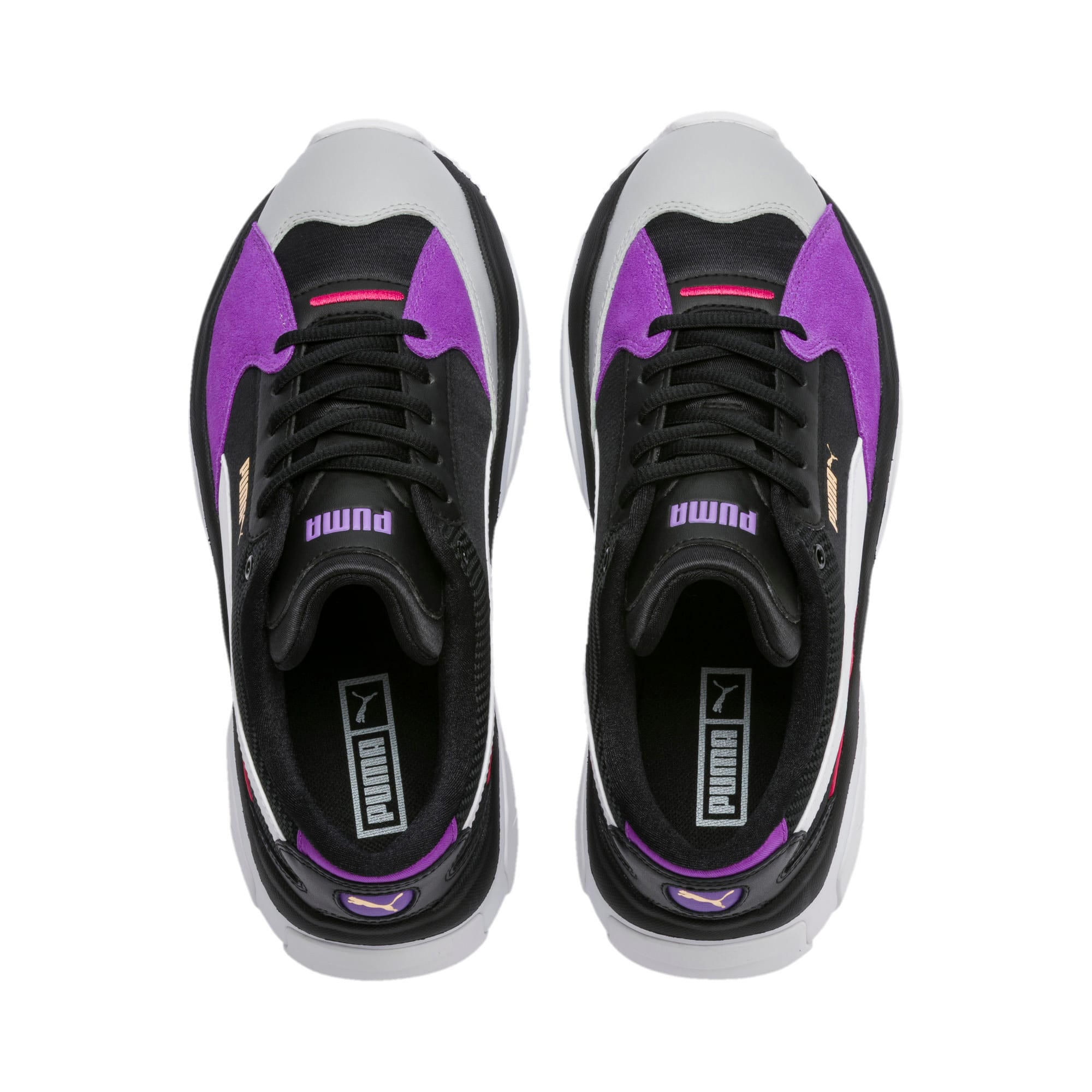 Thumbnail 7 of STORM.Y Damen Sneaker, Puma Black-Gray Violet, medium