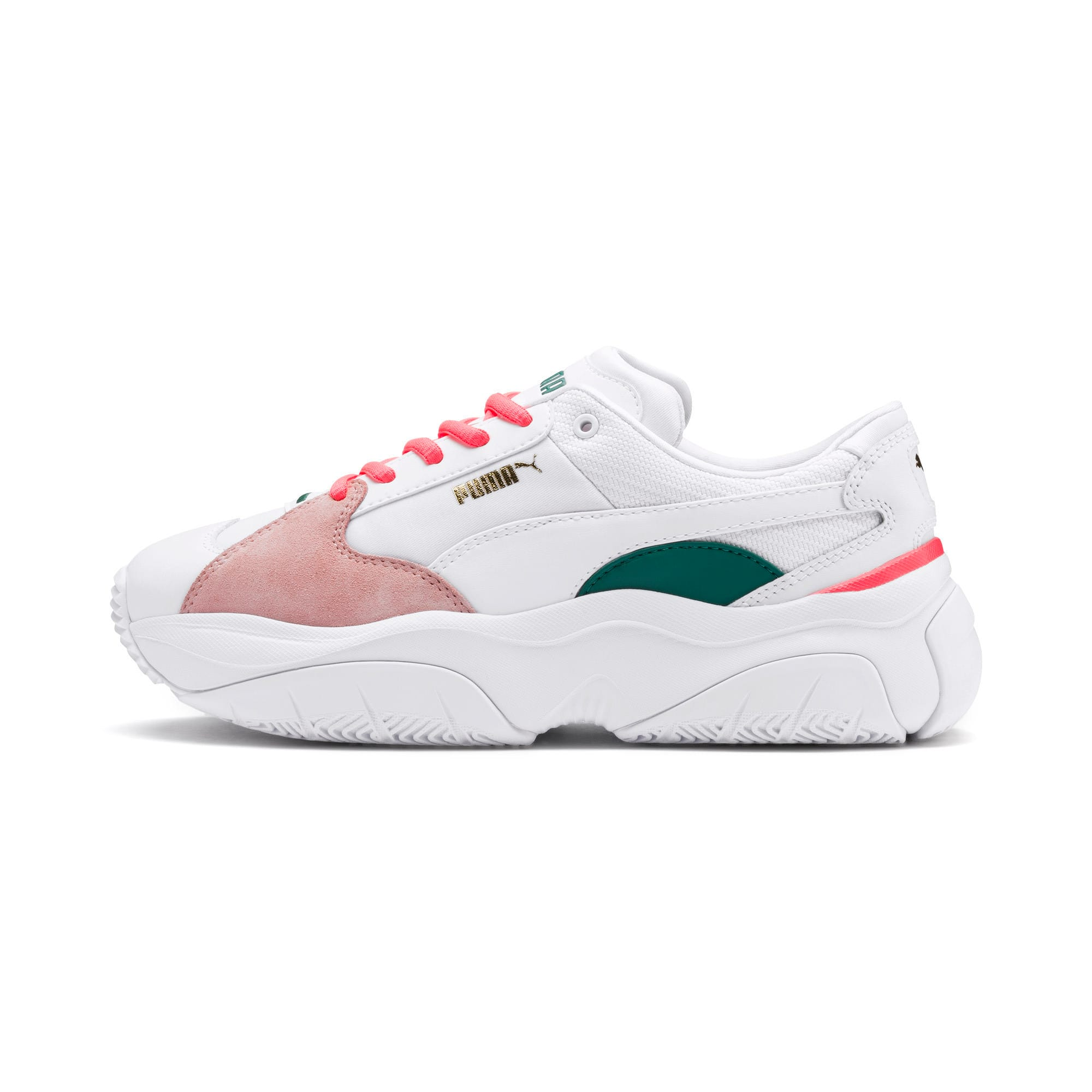 Thumbnail 1 of STORM.Y Damen Sneaker, Puma White-Gray Violet, medium