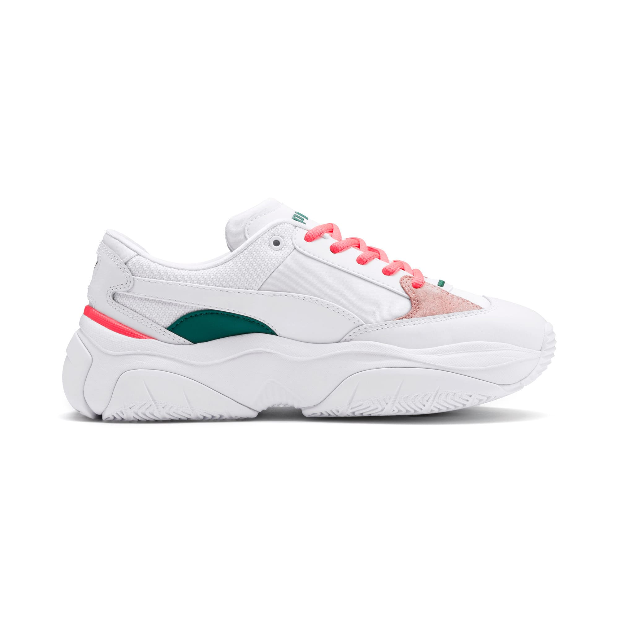 Thumbnail 6 of STORM.Y Damen Sneaker, Puma White-Gray Violet, medium