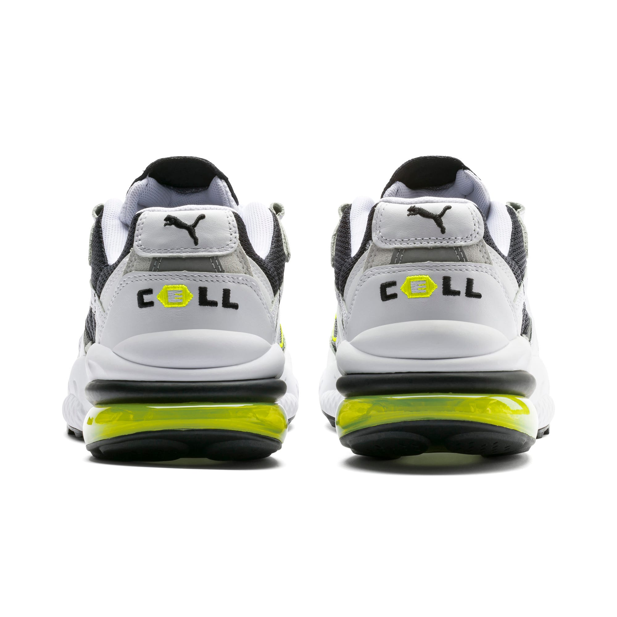 Thumbnail 3 of CELL Venom Hype Trainers, Pu Black-P White-Yell Alert, medium